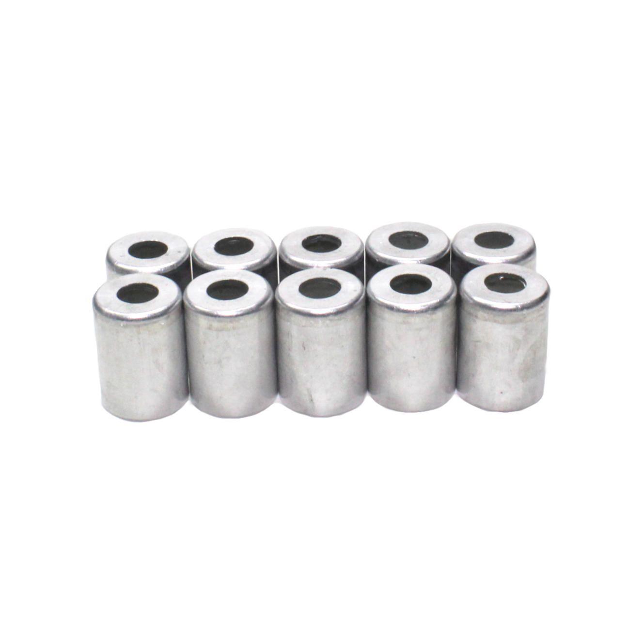 [10 uni] Caneca Copo Clip p/ Mangueira Ar Condicionado Universal 8 mm - Alumínio