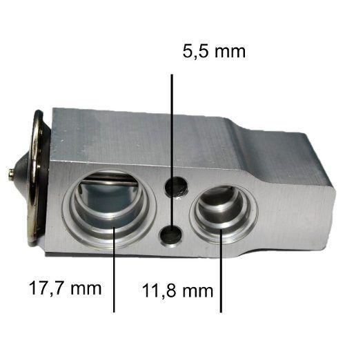 Valvula Expansão Block Ar Condicionado Meriva