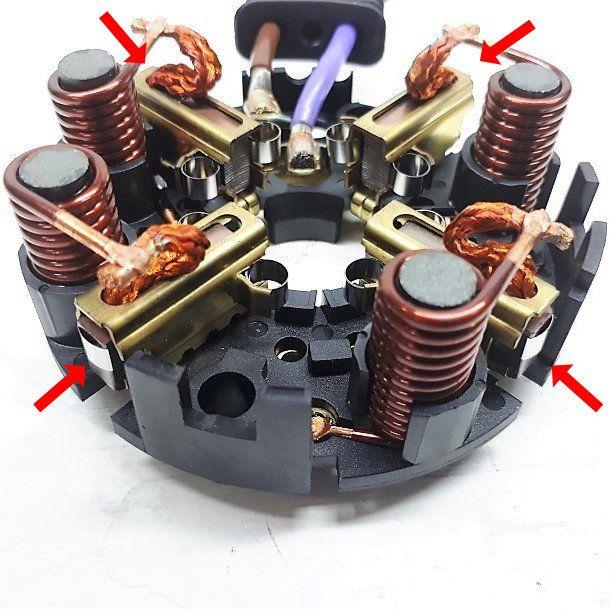 [4 uni] Escova Bomba Direção Eletro-hidráulica Classe A