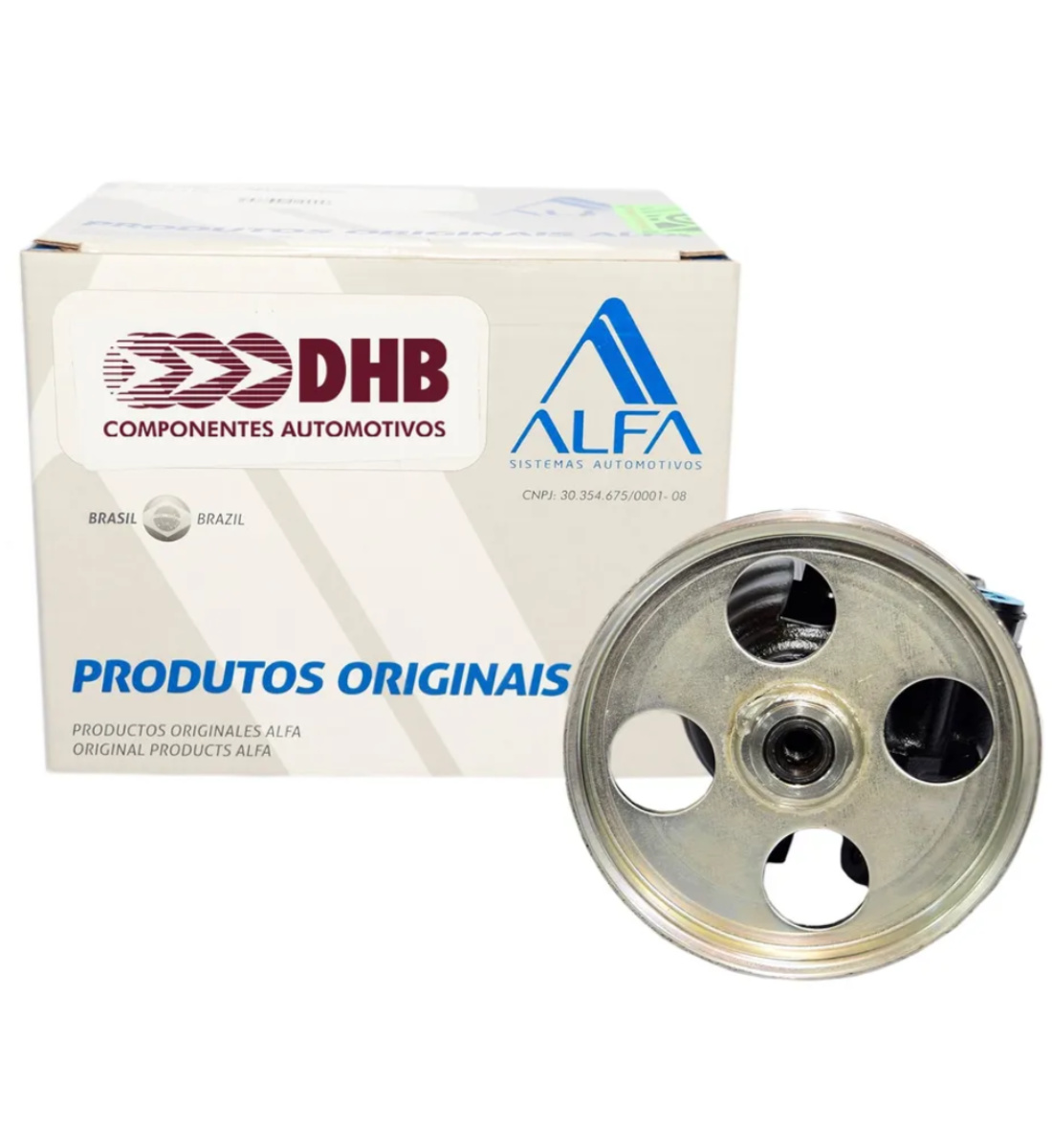 Bomba Direção Hidráulica DHB Blazer S10 MPFI 2.2, 2.4 97...03