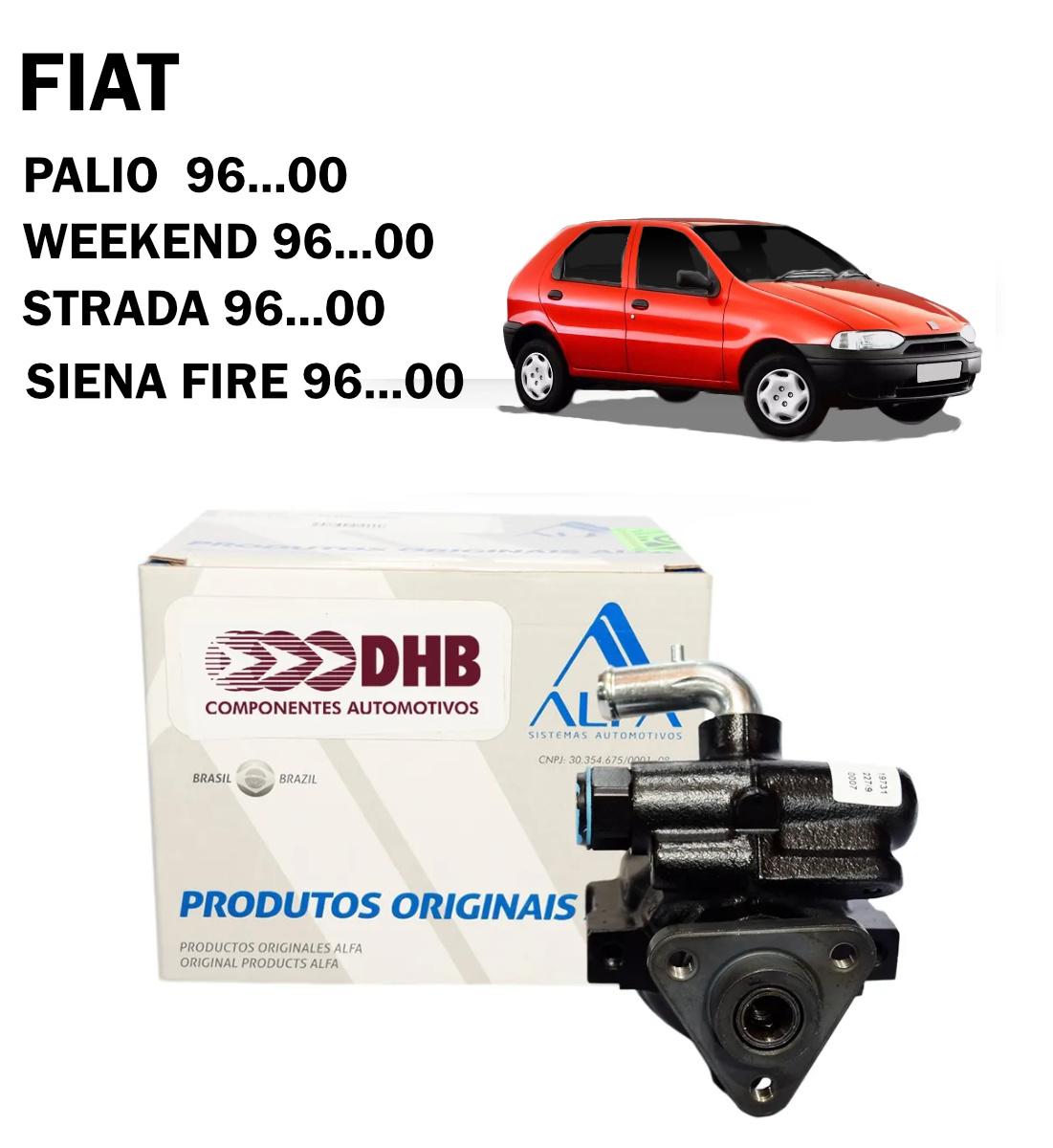 Bomba Direção Hidráulica DHB Fiat Palio, Siena, Strada, Week - 96...00