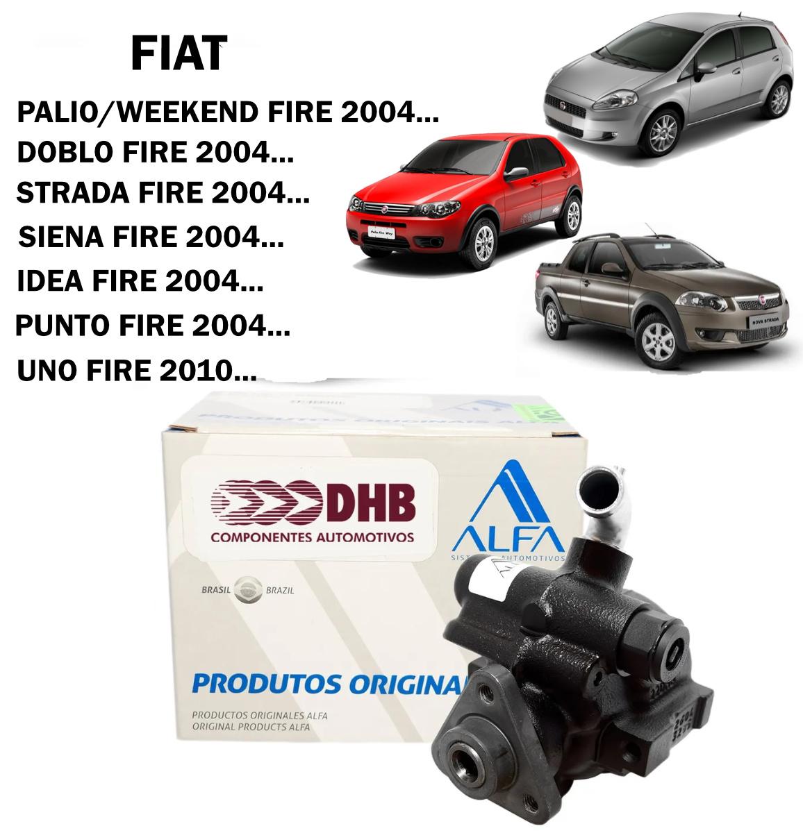 Bomba Direção Hidráulica DHB Palio Fire 04..., Idea Fire 04..., Doblo Fire 04..., Punto Fire, Linea Fire