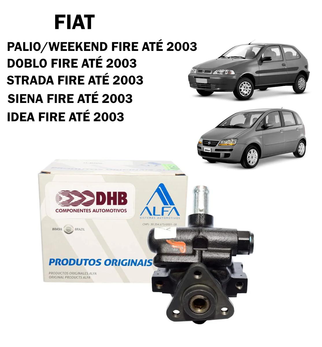 Bomba Direção Hidráulica DHB Palio Fire, Idea Fire, Doblo Fire até 2003