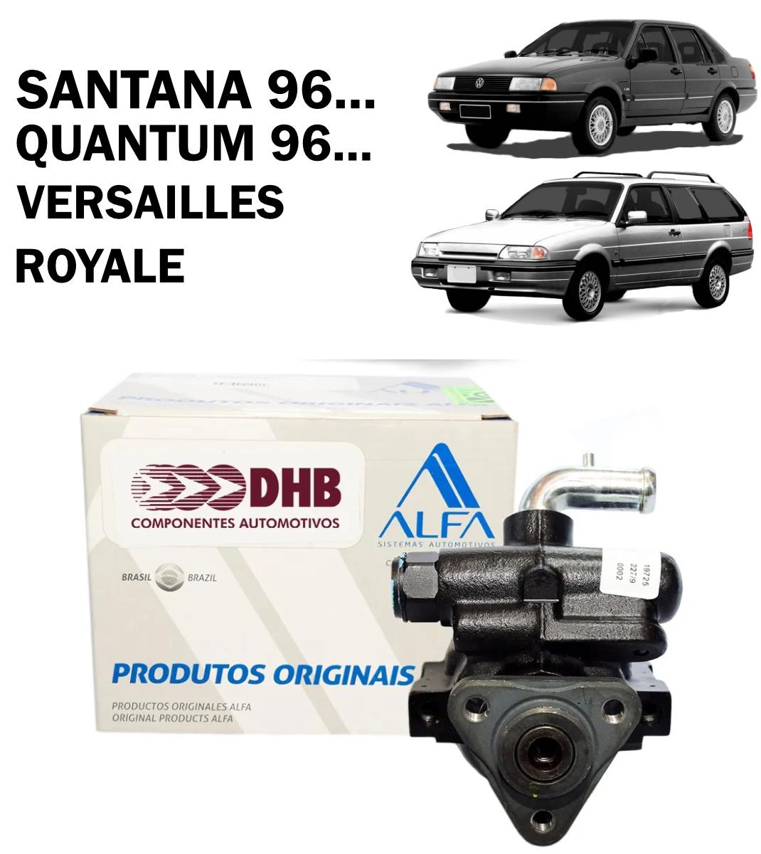 Bomba Direção Hidráulica DHB Santana 96..., Quantum 96..., Versailles, Royale