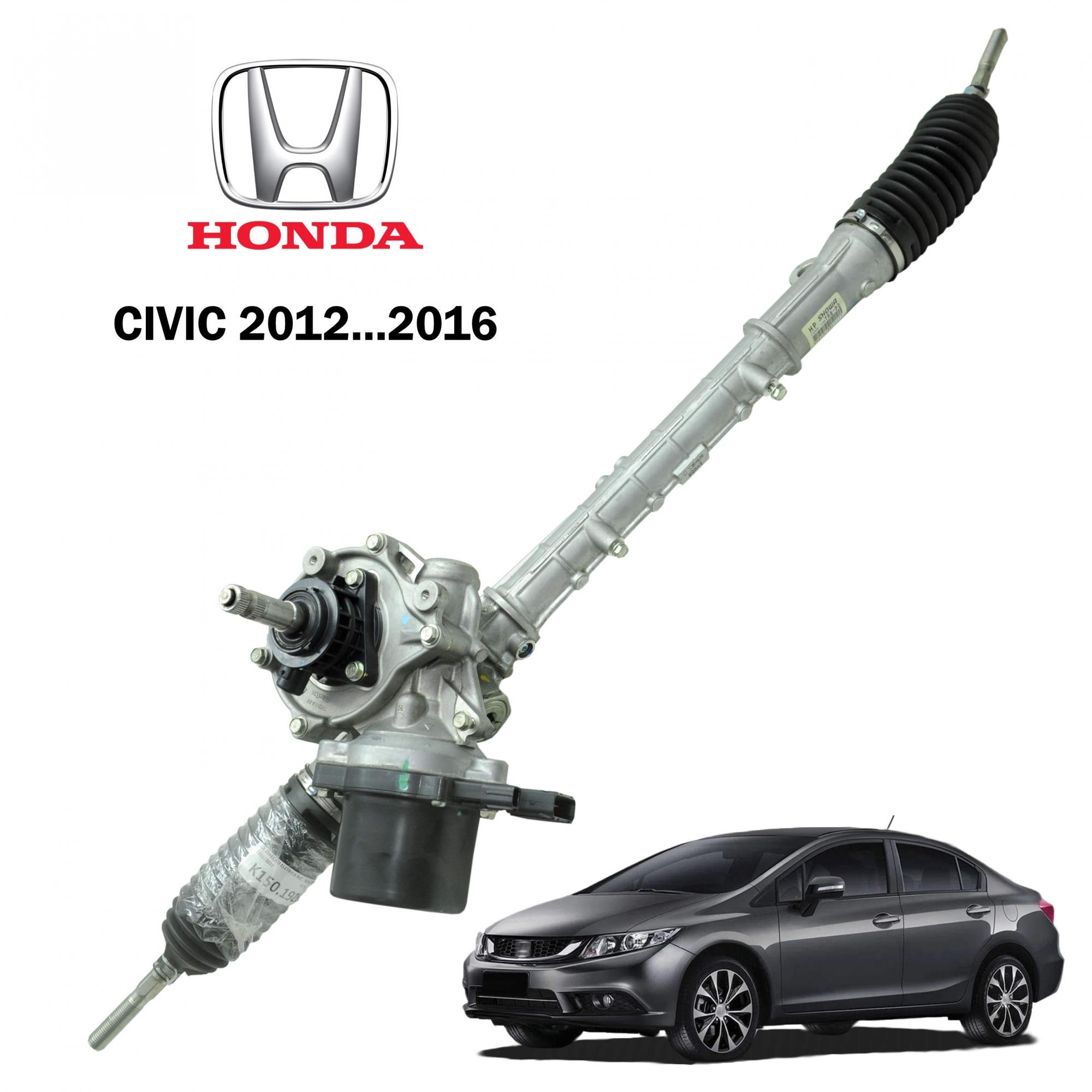 Caixa Direção Elétrica Honda Civic 2012...2016