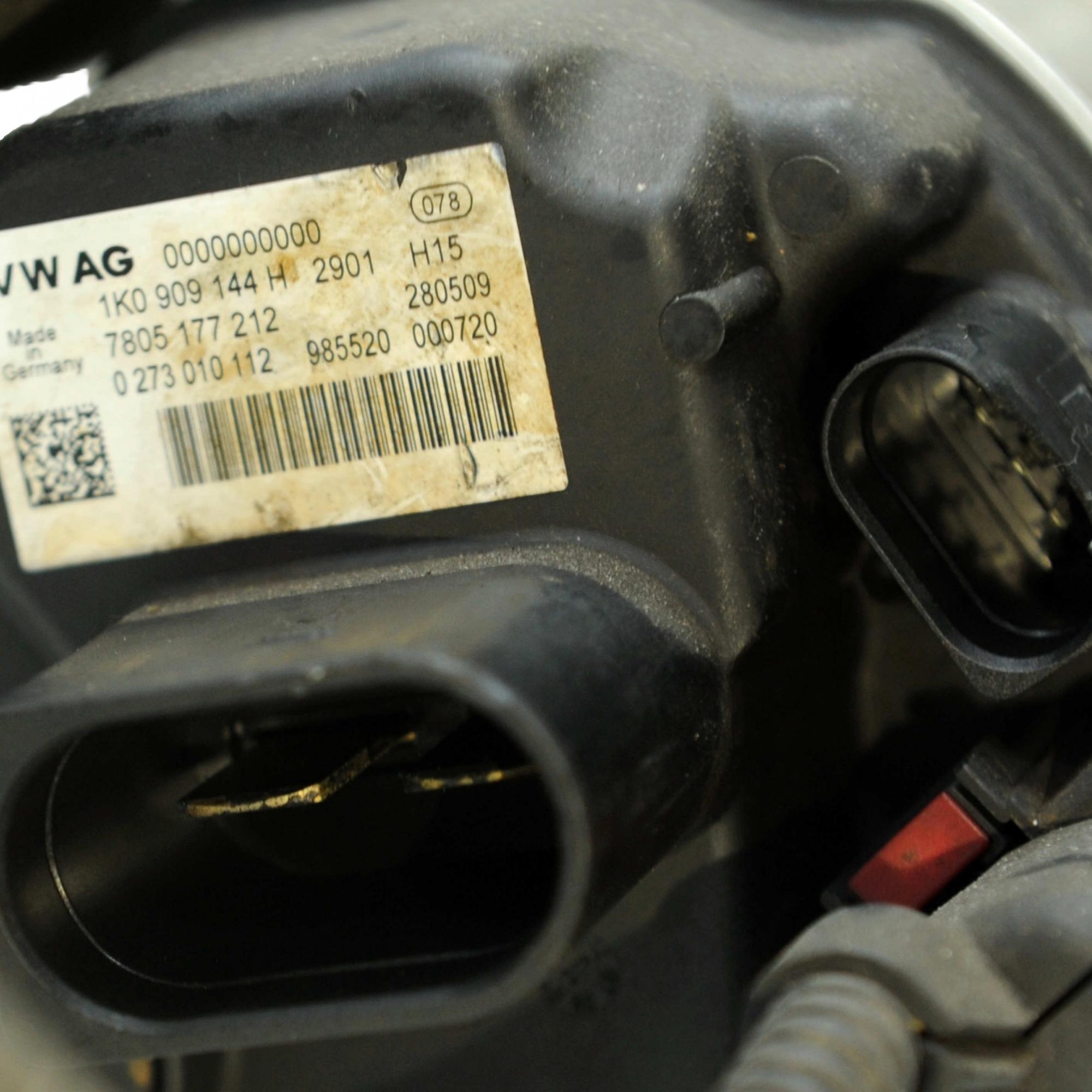 Caixa Direção Elétrica Jetta 2011..., Passat, A3 09... 1K0909144H