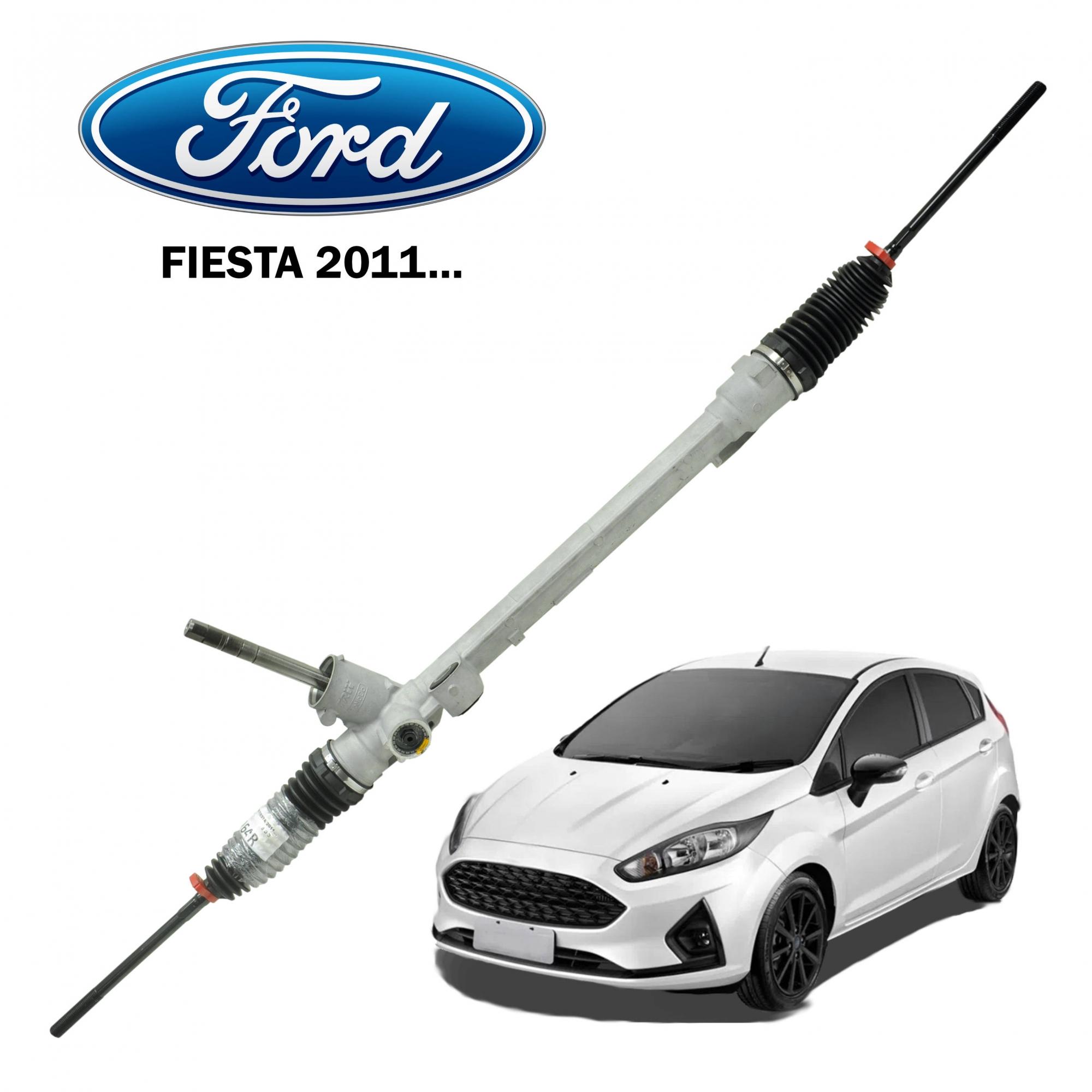 Caixa Direção Ford Fiesta 2011... (Sistema Elétrico)