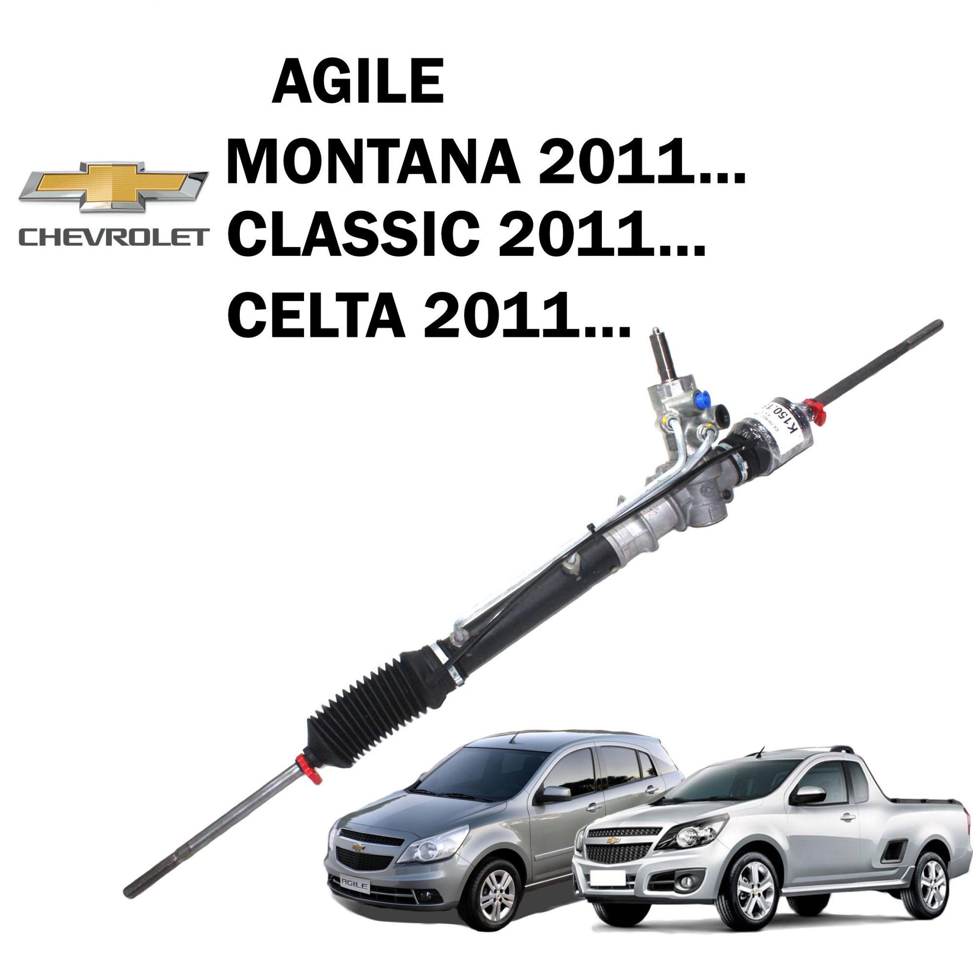 Caixa Direção Hidráulica Agile. Montana 2011..., Celta, Classic, Prisma - Recondicionada