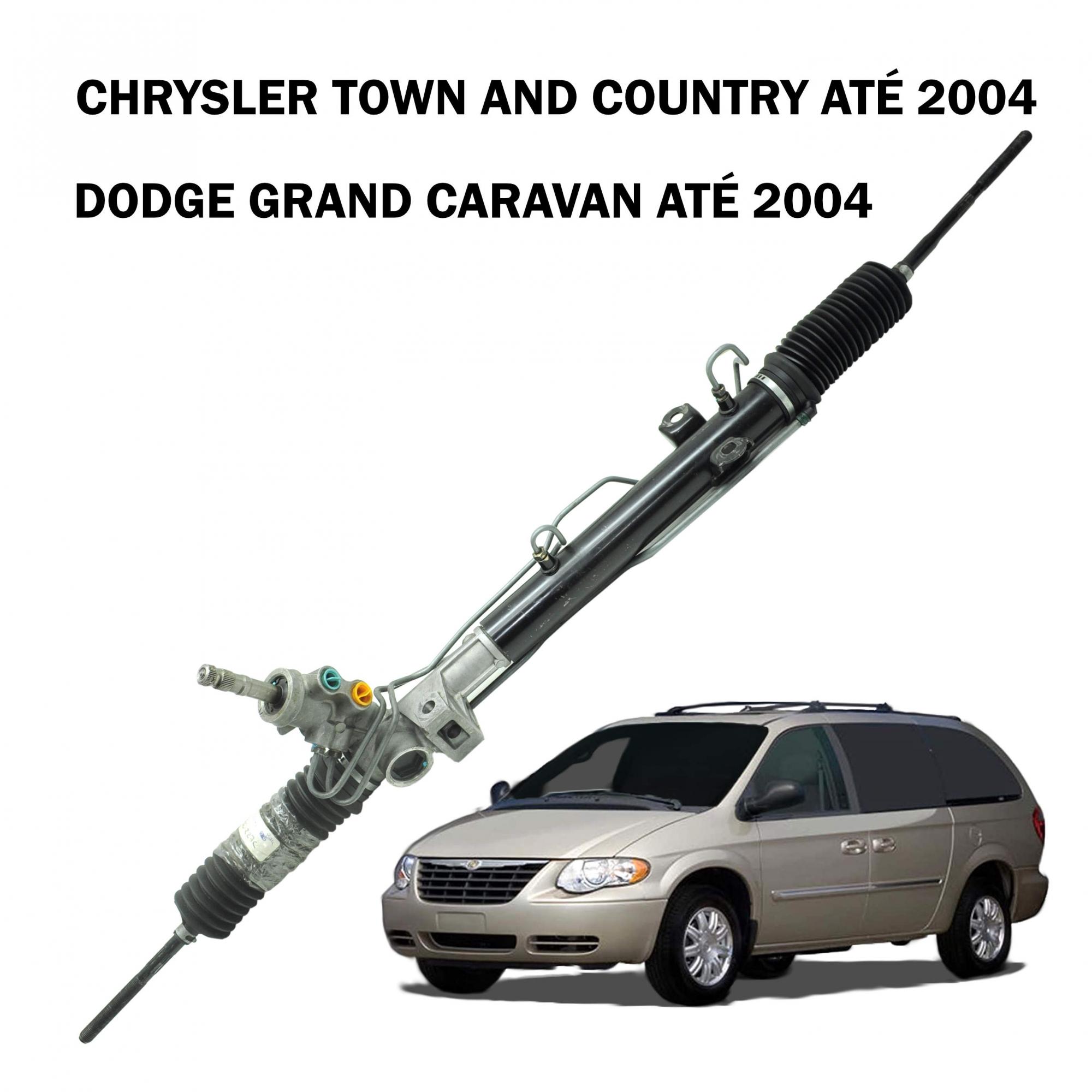 Caixa Direção Hidráulica Grand Caravan Town & Country até 2004