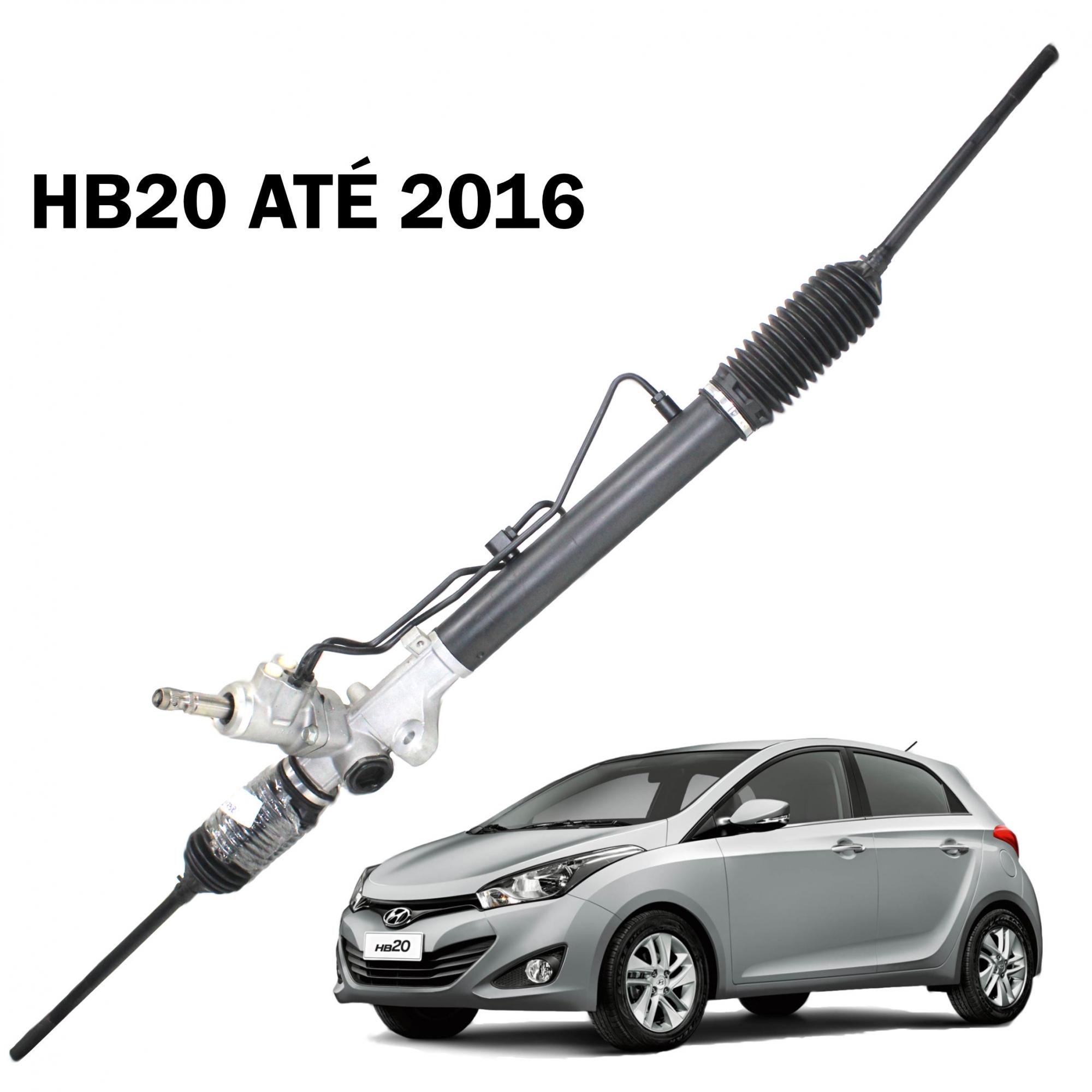 Caixa Direção Hidráulica HB20 até 2016- Recondicionada