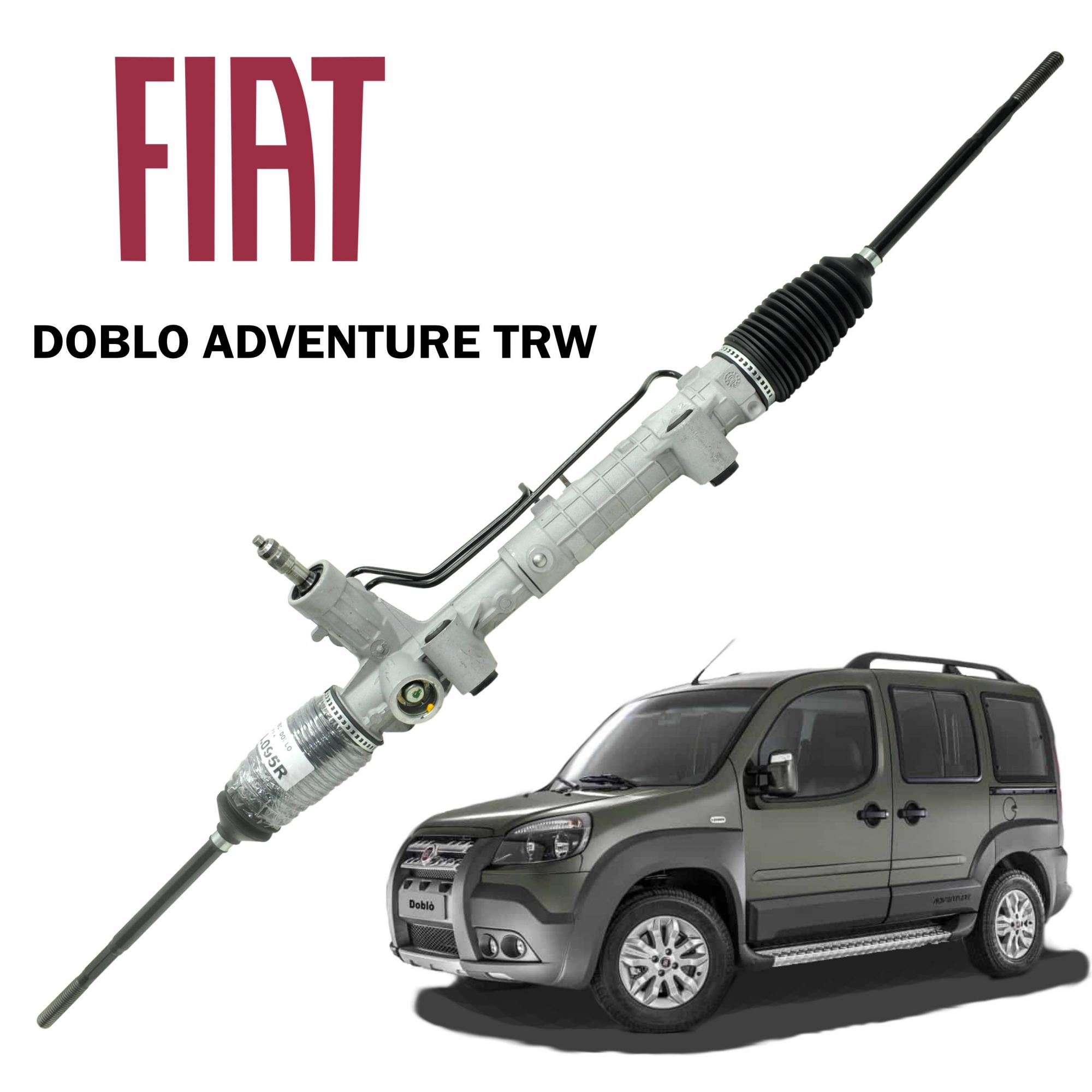 Caixa Direção Hidráulica TRW Doblo Adventure