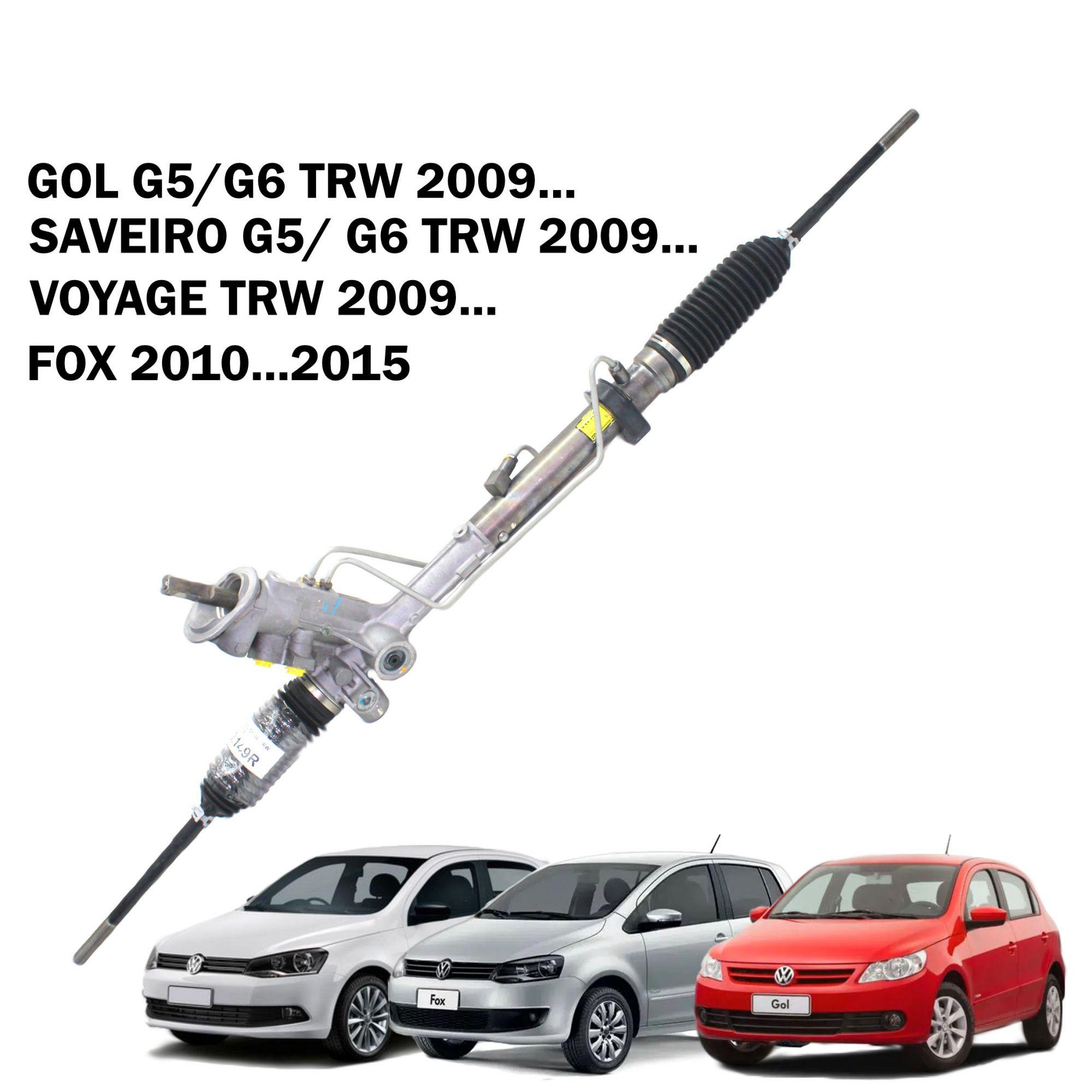 Caixa Direção Hidráulica TRW Gol G5 G6, Voyage, Fox, Saveiro