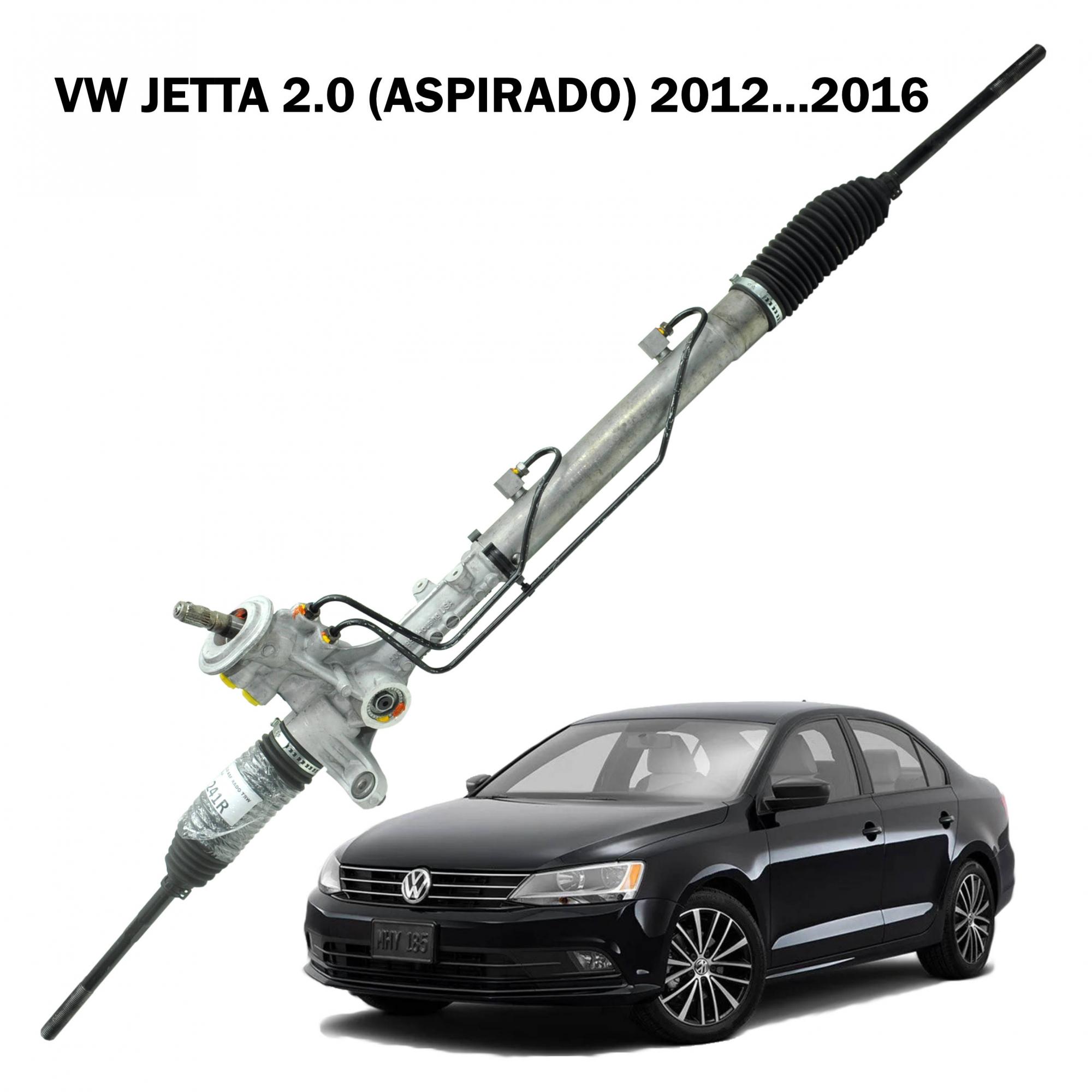Caixa Direção Hidráulica TRW Jetta 2.0 (aspirado) 2012...2016