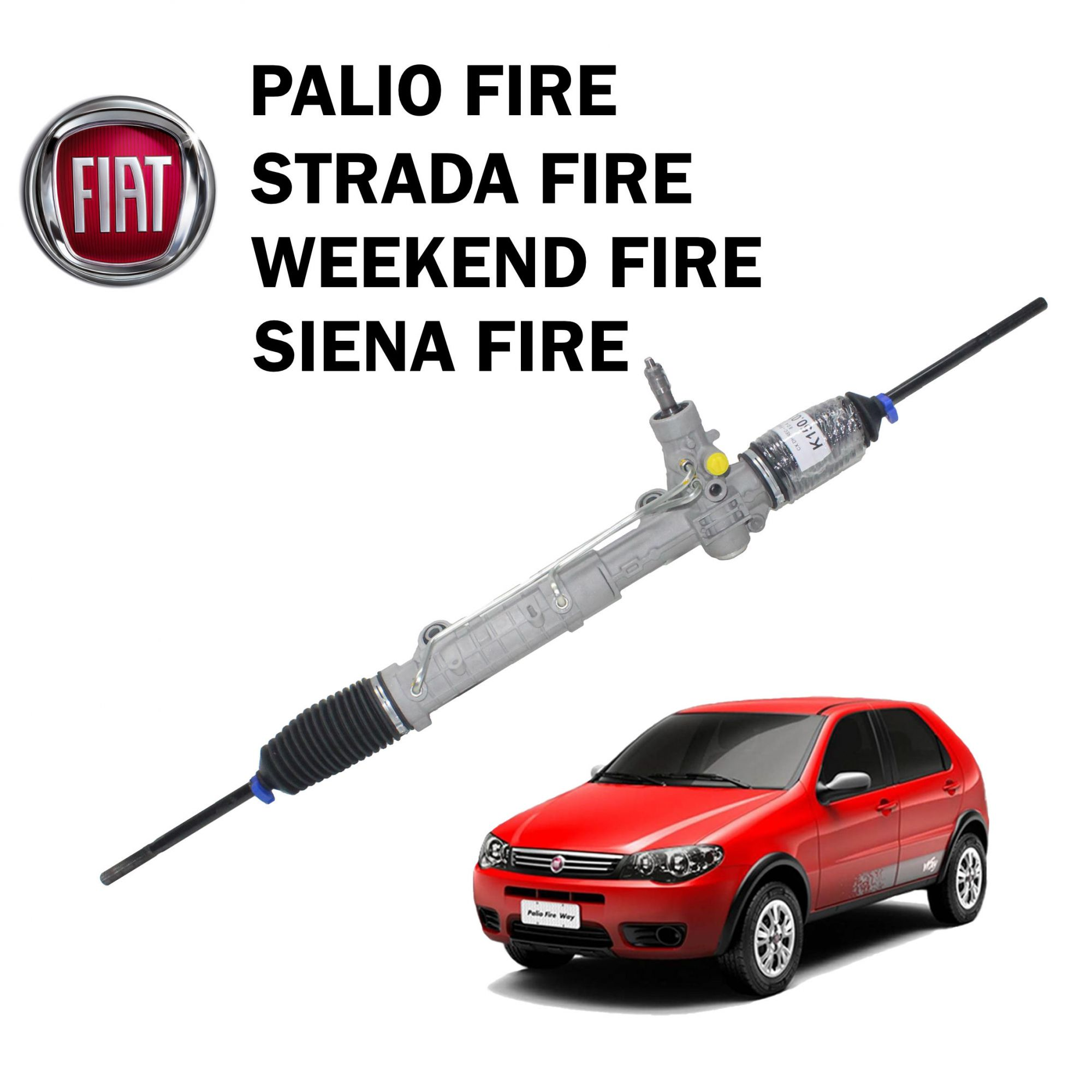 Caixa Direção Hidráulica TRW Palio Fire, Strada , Siena, Weekend
