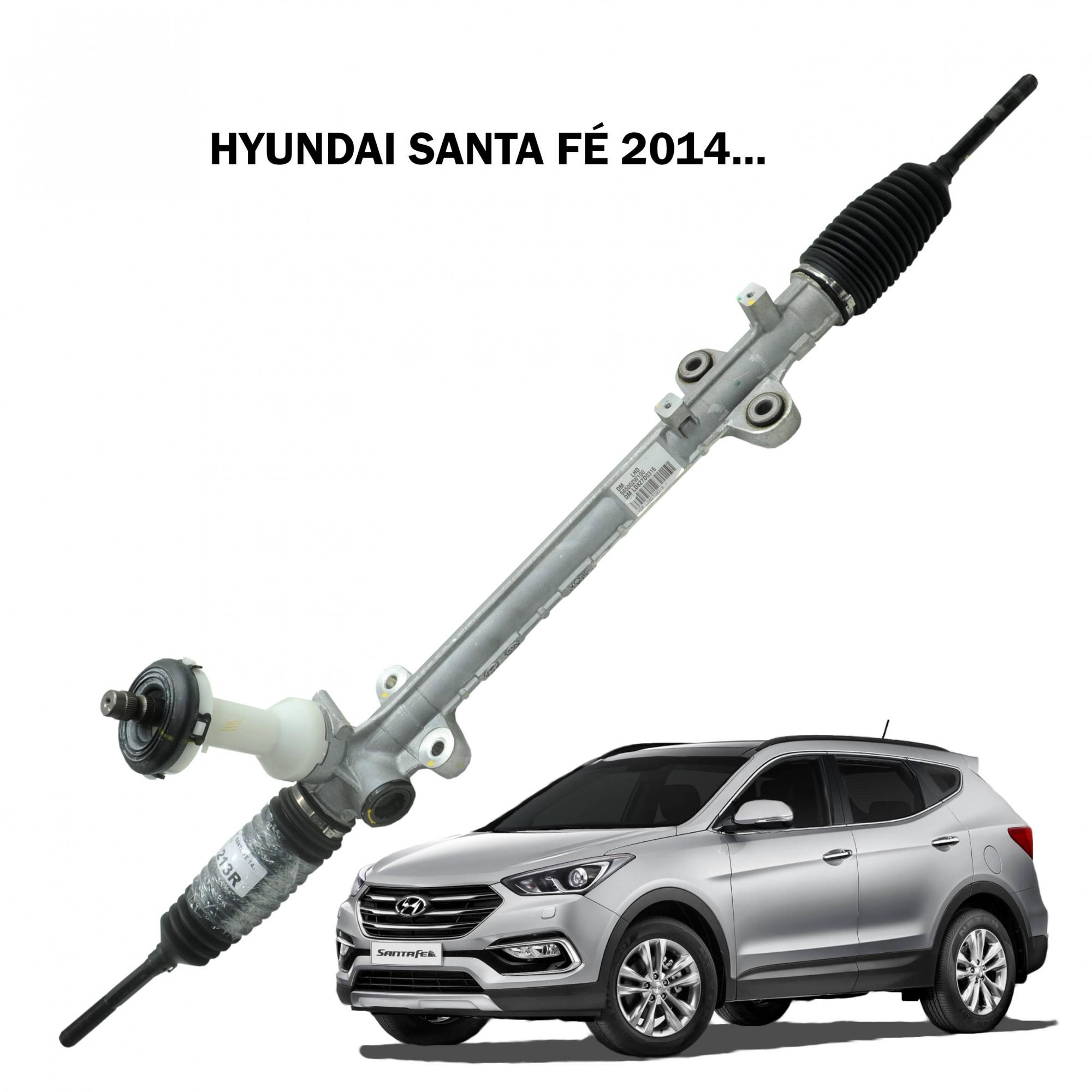Caixa Direção Hyundai Santa Fé 2014... (Sistema Elétrico) 56500-2W100
