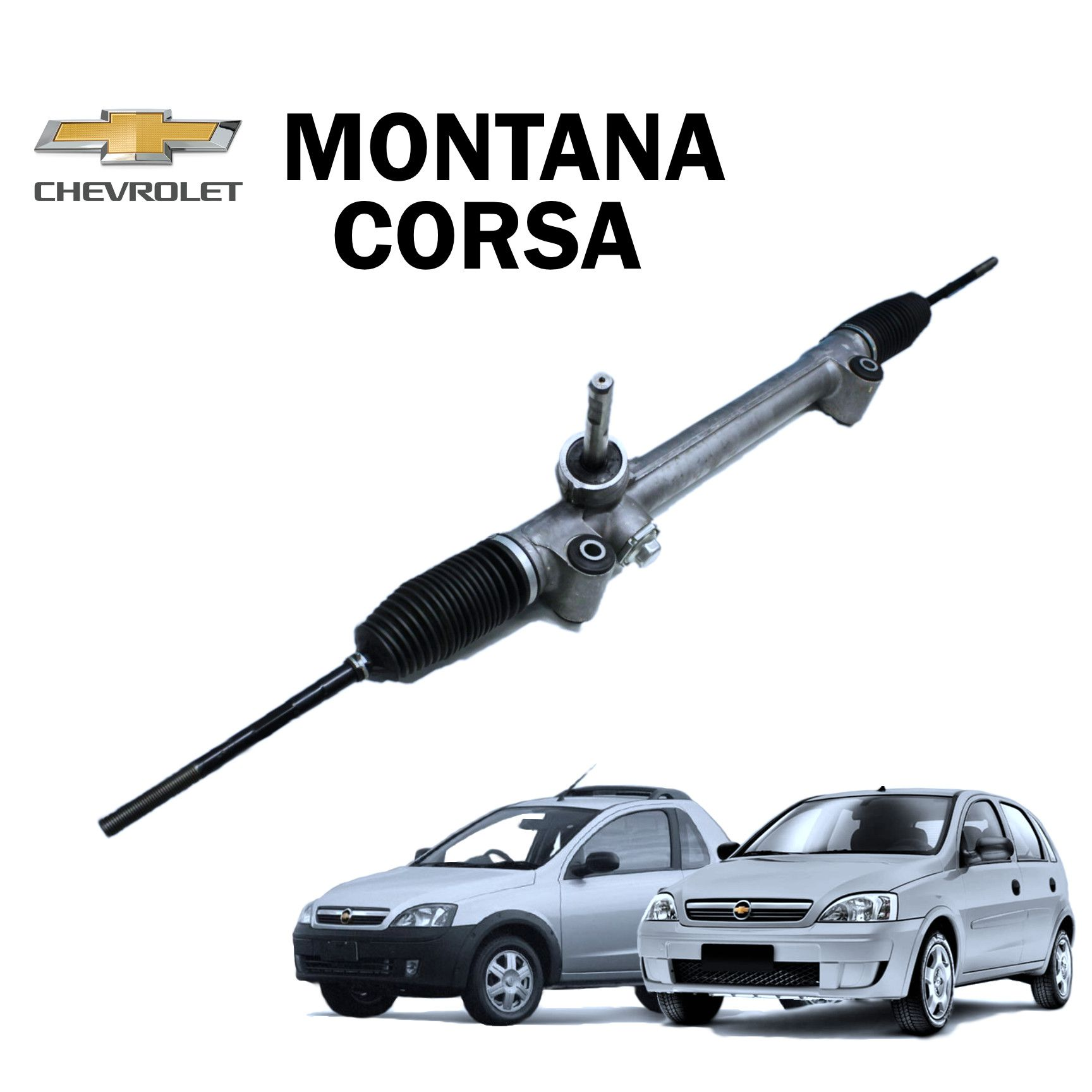 Caixa Direção Mecânica Corsa e Montana 2003...2010