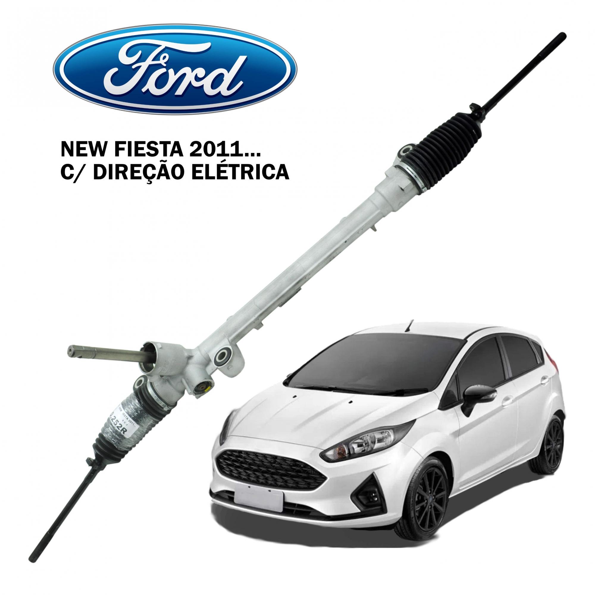 Caixa Direção Mecânica Ford Fiesta 2011... c/ Direção Elétrica