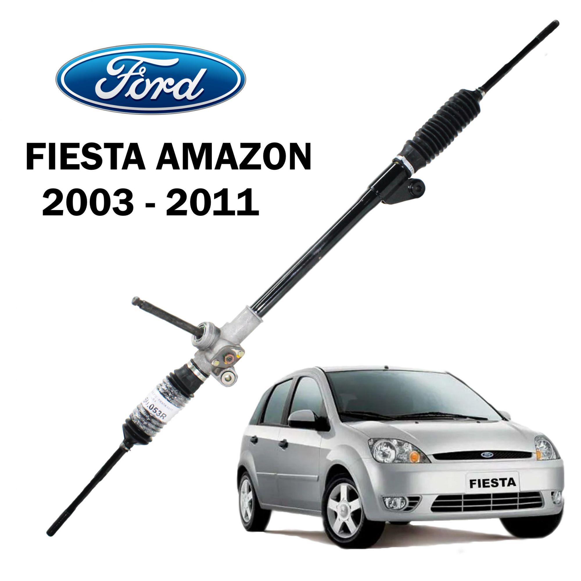 Caixa Direção Mecânica Ford Fiesta Amazon 2003...2011 - Remanufaturada