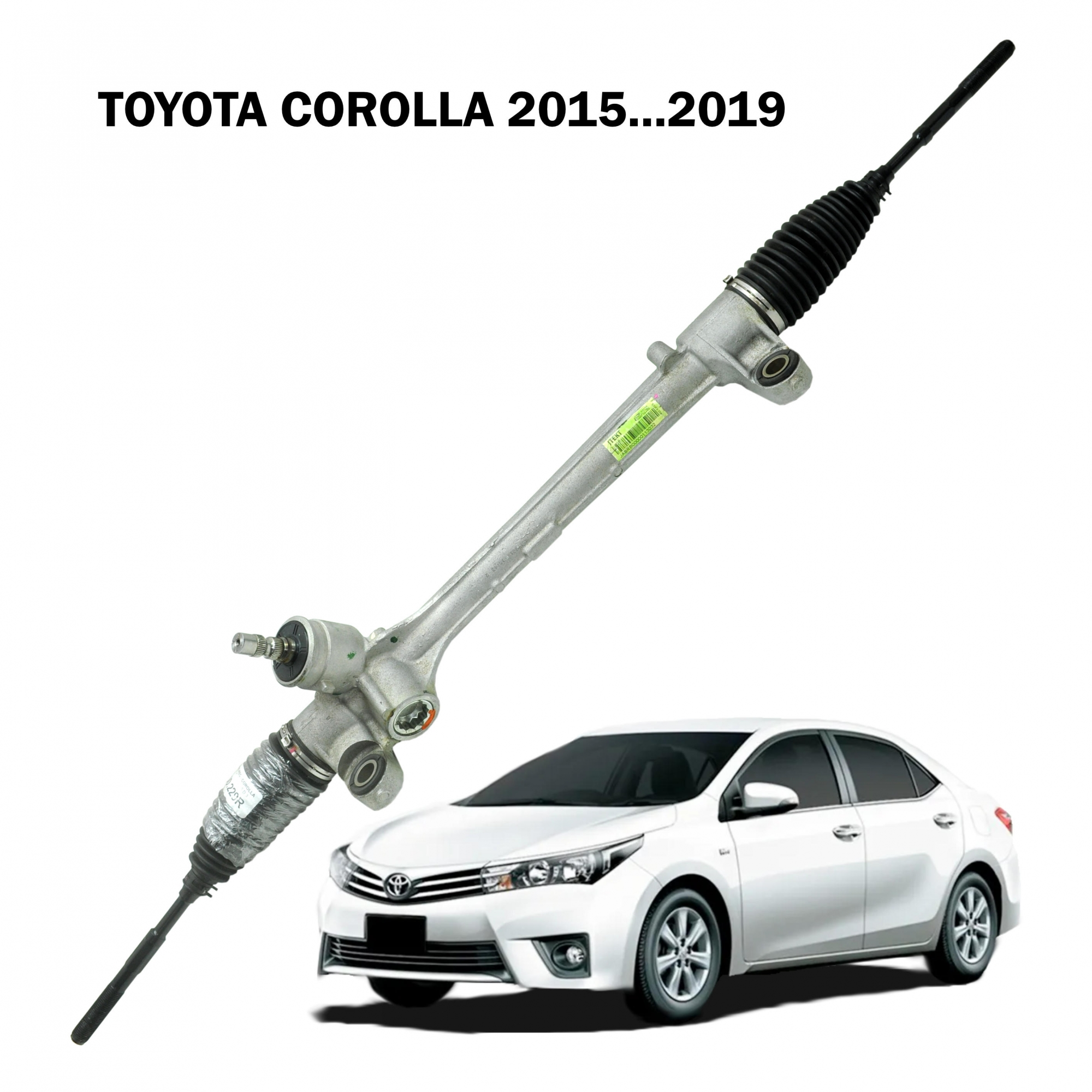 Caixa Direção Mecanica  JTEKT Toyota Corolla 2015...2019 (Sistema Elétrico)