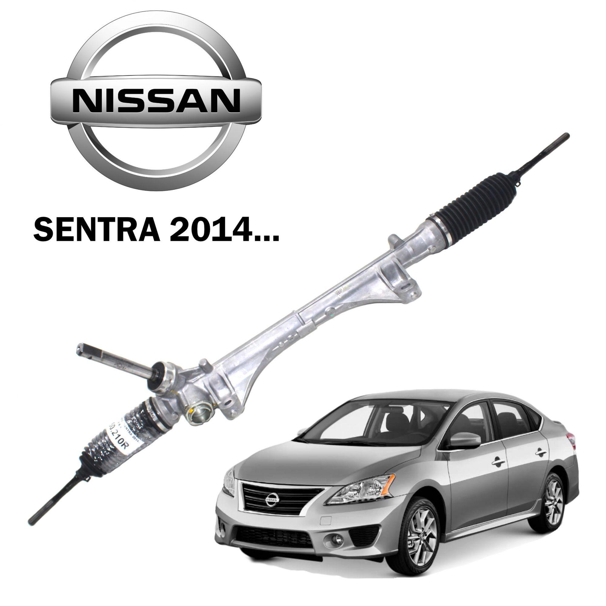 Caixa Direção Mecânica Nissan Sentra 2014... 480013SG1A