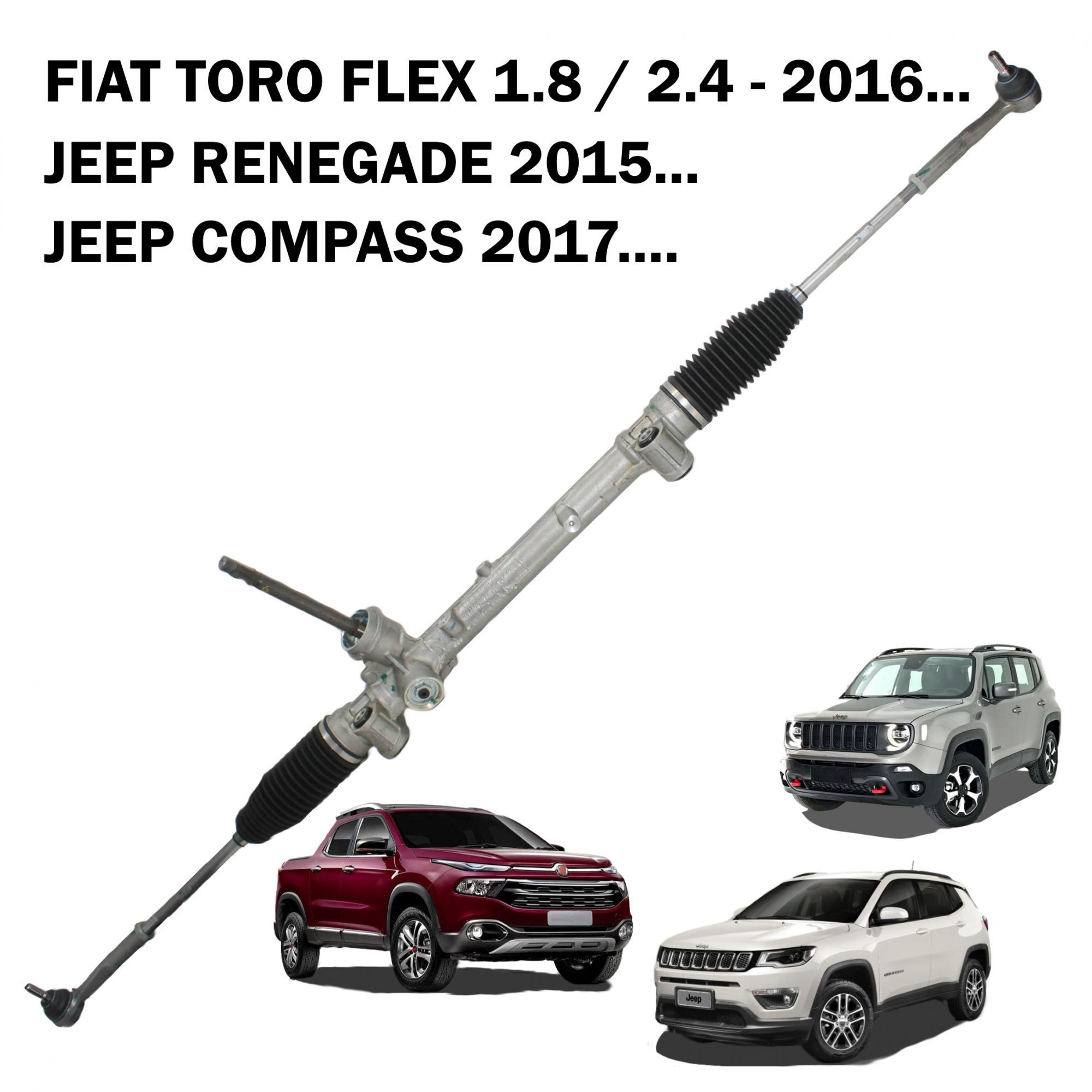 Caixa Direção Mecânica Original Jeep Renegade 2015..., Compass 2017..., Toro 1.8 2.4 (Sistema Elétrico)
