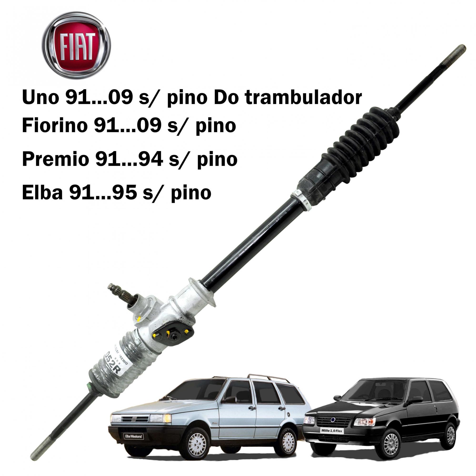 Caixa Direção Mecânica TRW Uno Elba, Fiorino, Premio 91...2009 s/ Pino do Trambulador