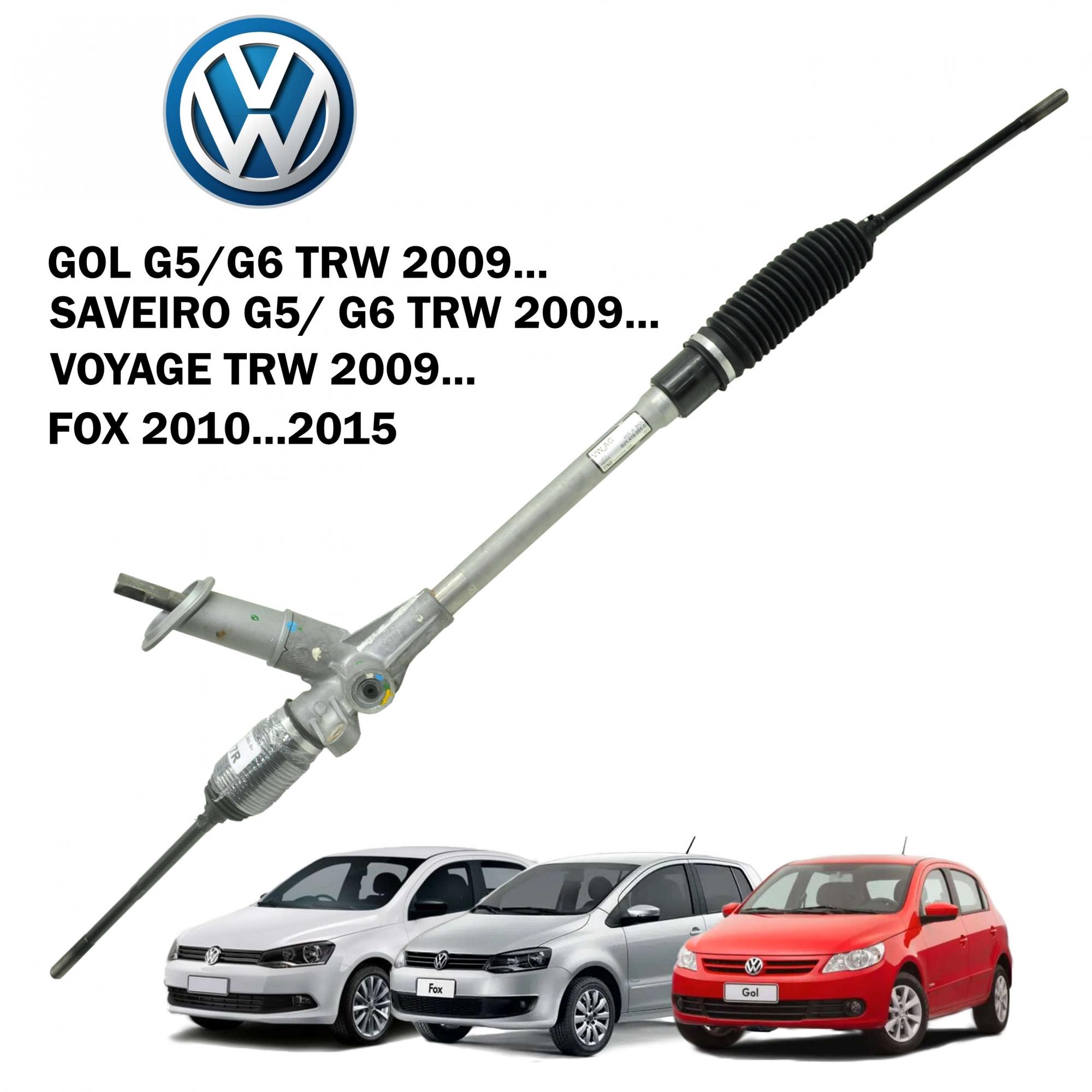 Caixa Direção Mecanica TRW VW Gol G5/G6 09..., Fox 09...,Saveiro G5/G6 2009...