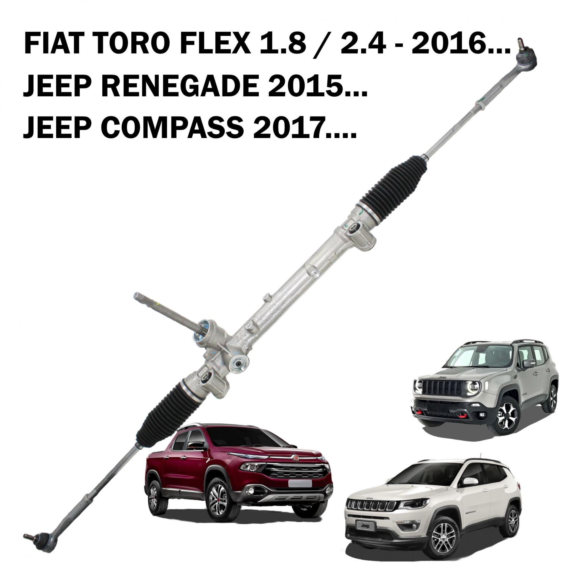 Caixa Direção Mopar/TRW Jeep Renegade 2015..., Compass 2017..., Toro 1.8 2.4 53426445