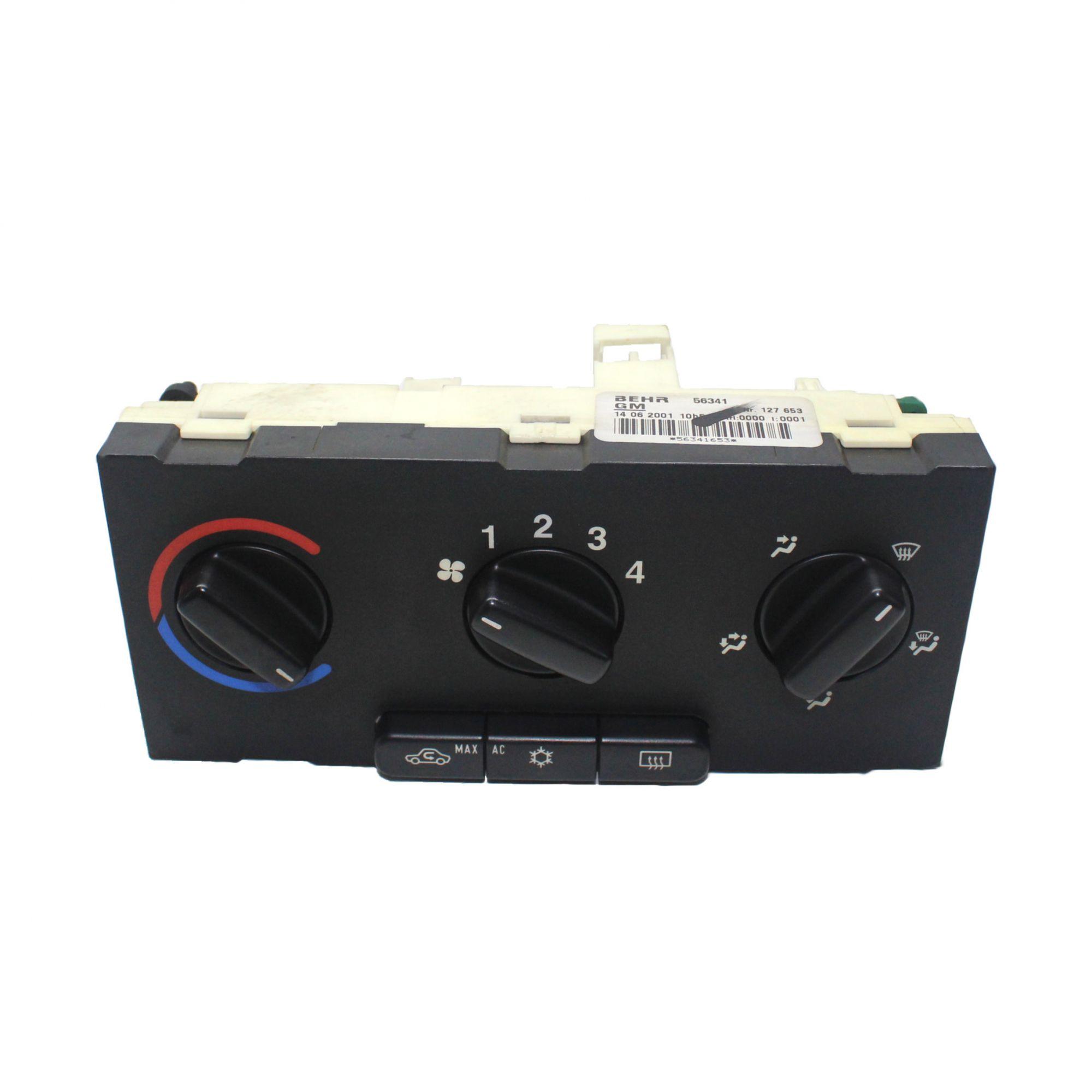 Comando Manual Ar Condicionado BEHR Zafira - Usado