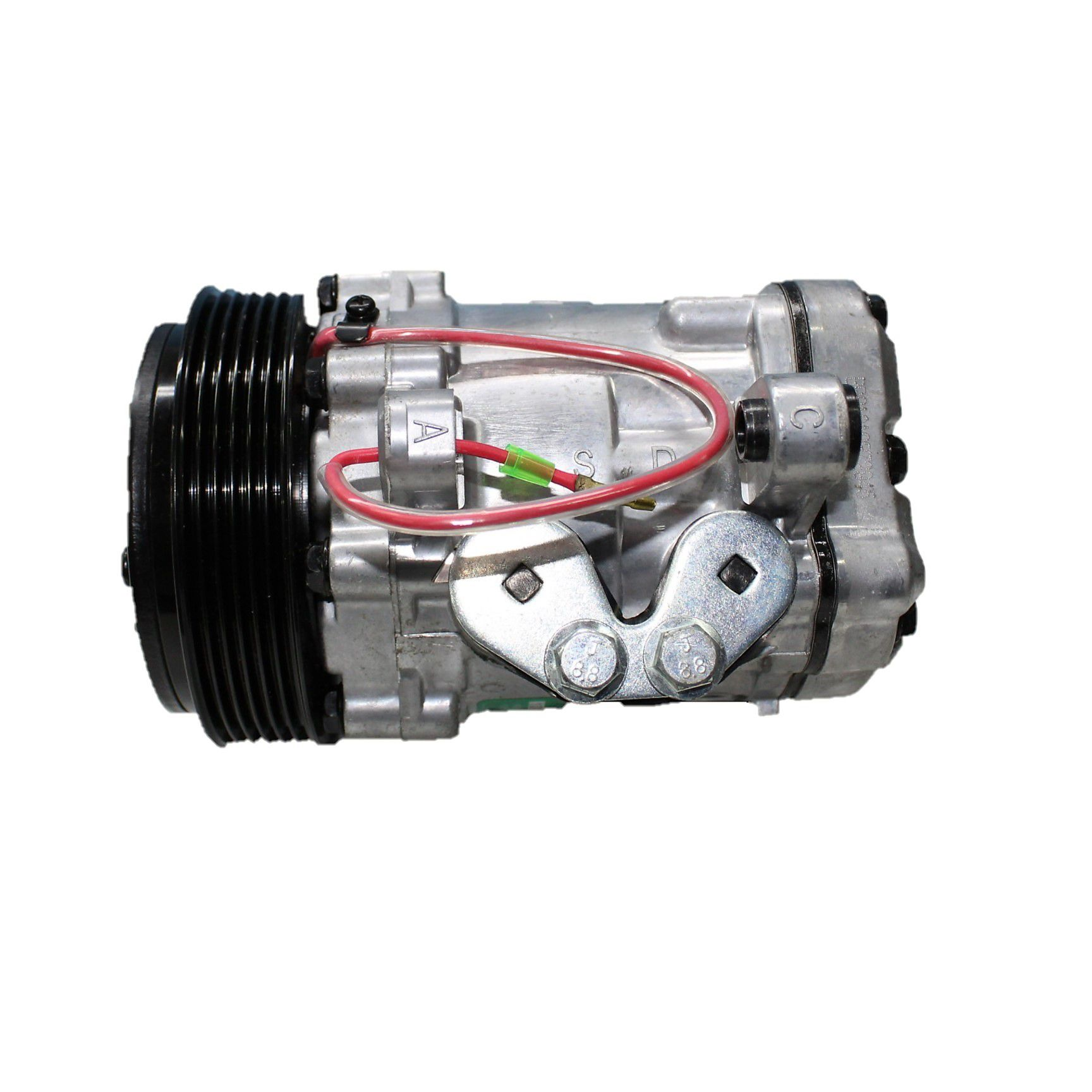 Compressor Ar Condicionado Para Adaptação Fiorino, Kangoo