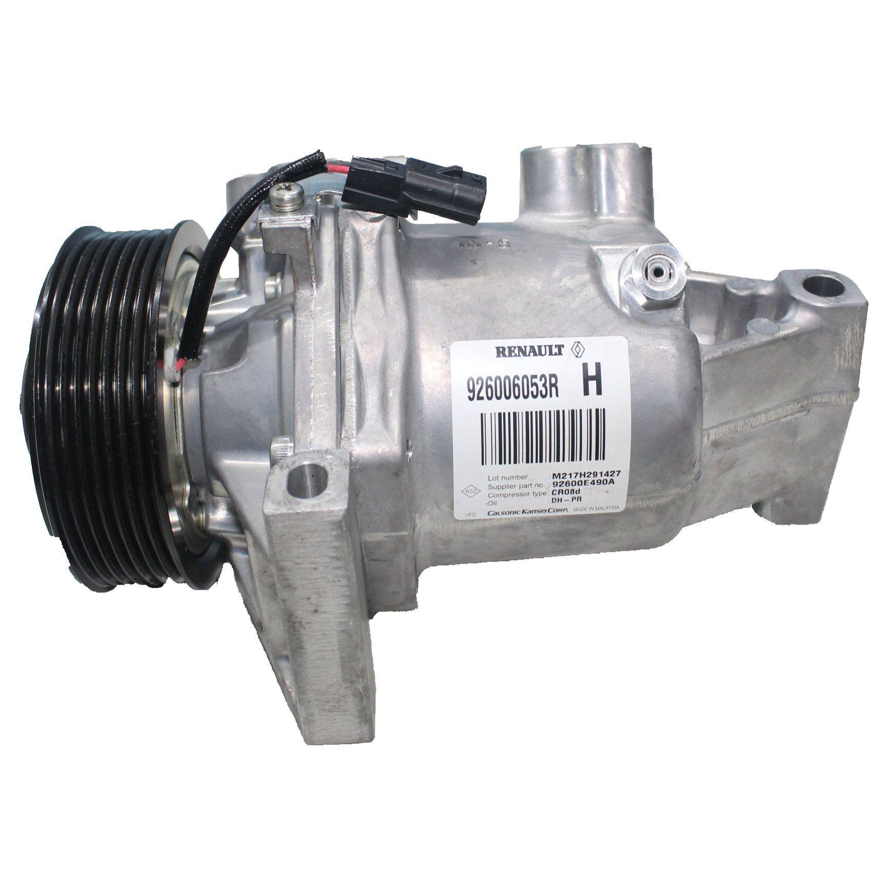 Compressor Ar Condicionado Calsonic 7PK Sandero, Logan, Captur
