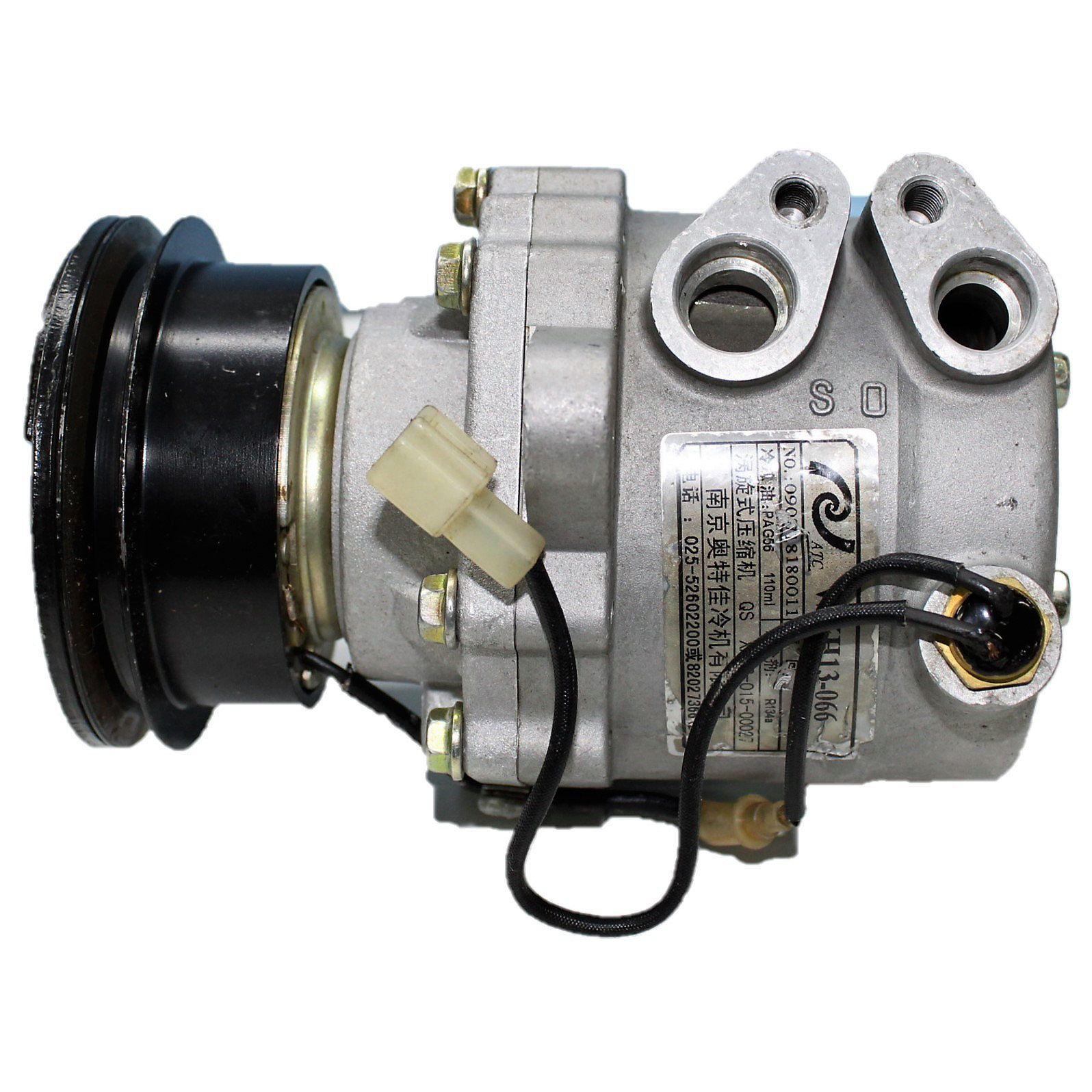 Compressor Ar Condicionado EFFA c/ Sensor Polia V