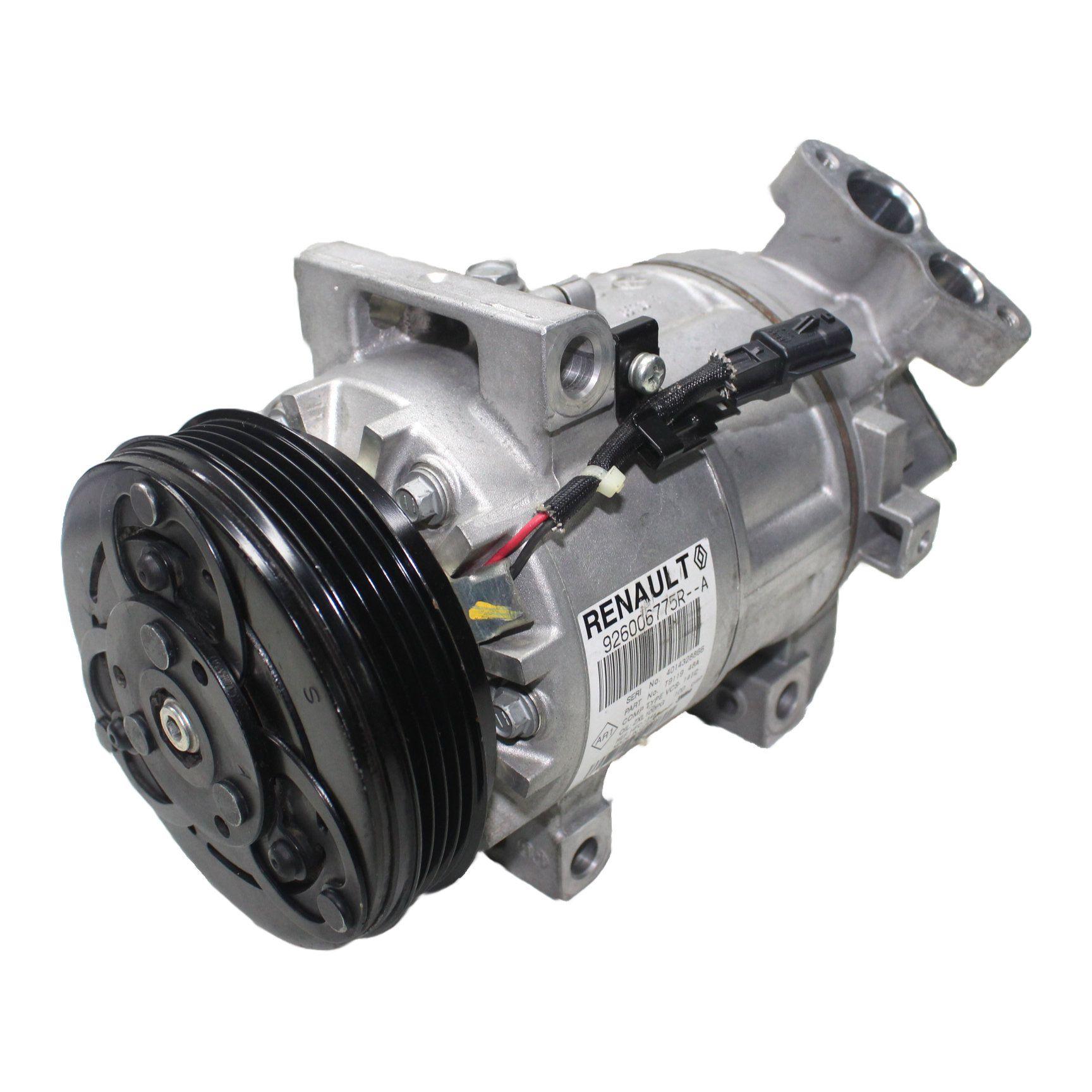 Compressor Ar Condicionado Valeo Sandero, Logan 1.0 16v - Recon