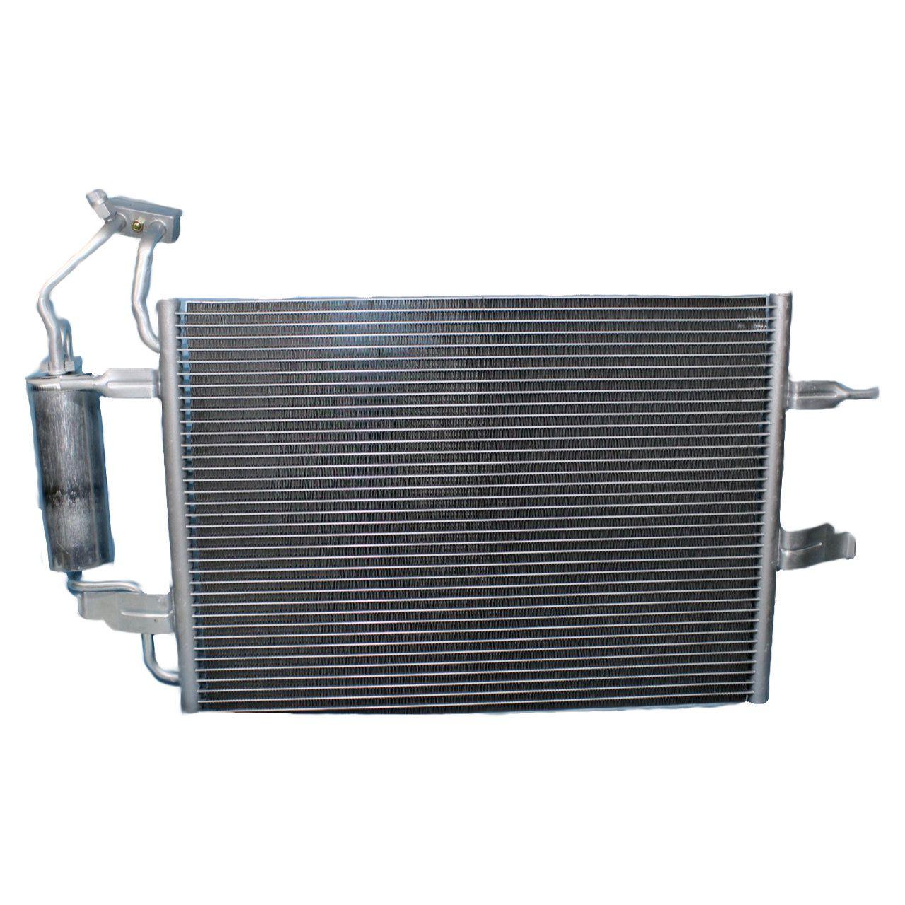 Condensador Ar Condicionado Meriva 1.4, 1.8 - 2003... C/ Filtro secador
