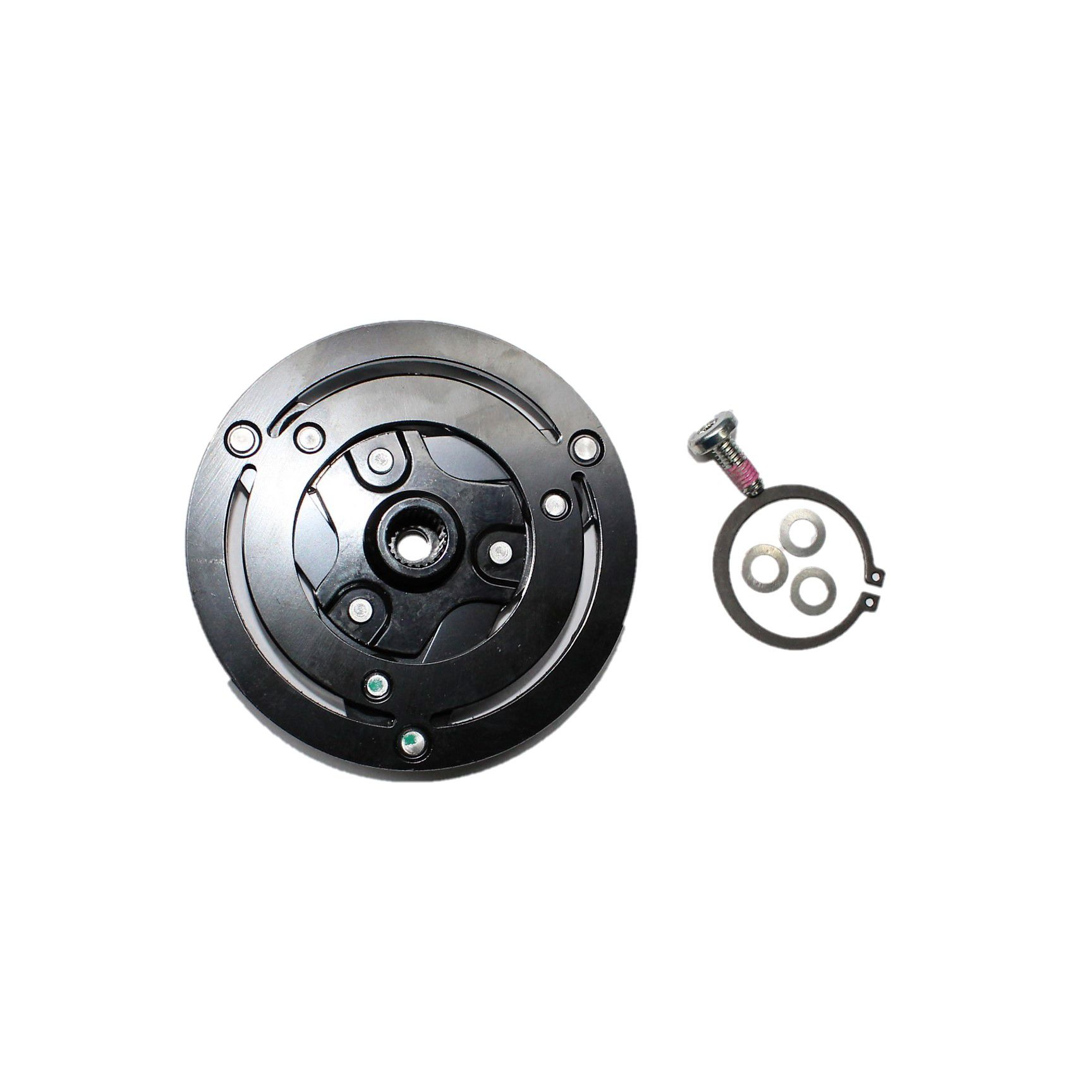 Embreagem Compressor Mahle Jeep Renegade, Compass, Fiat Toro