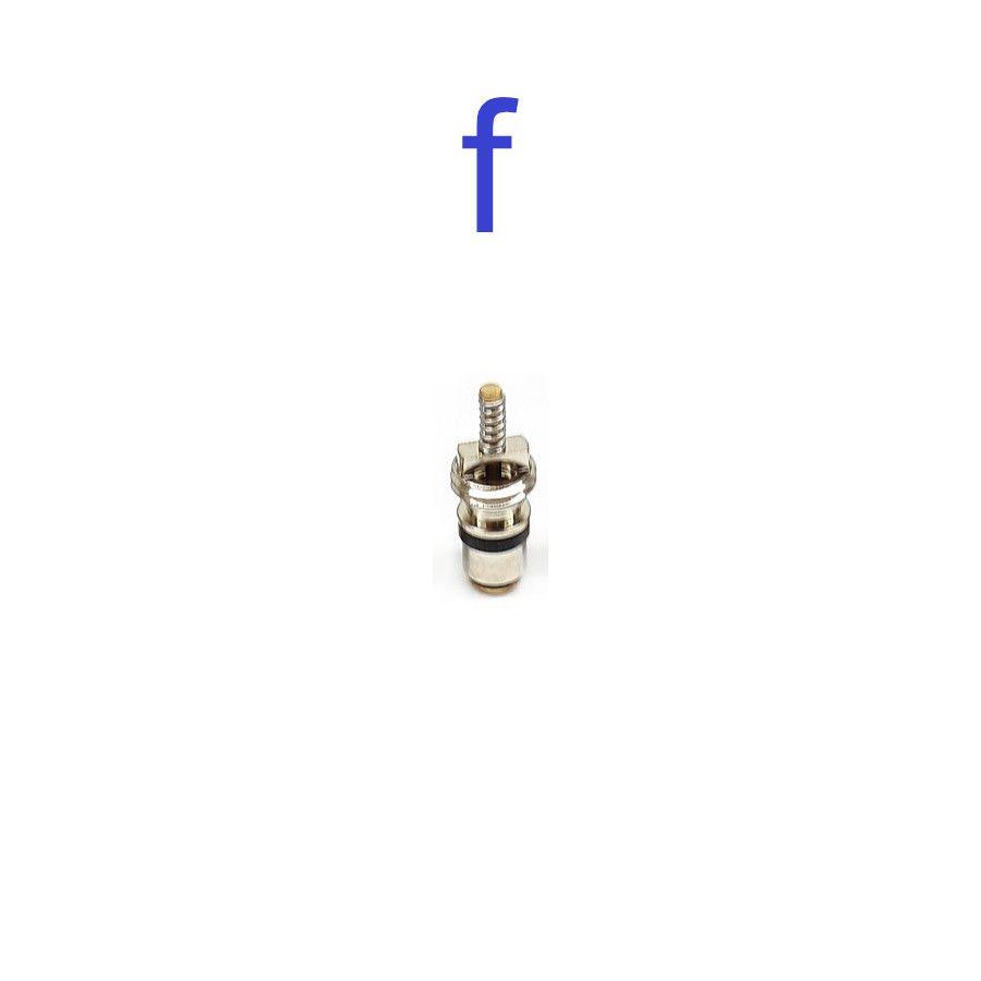 [Kit] Sacador + Valvula de Serviço Ar Condicionado GM, Fiat, Vw, Ford, Honda, Toyota, Land Rover, Citroen, Peugeot, JEEP