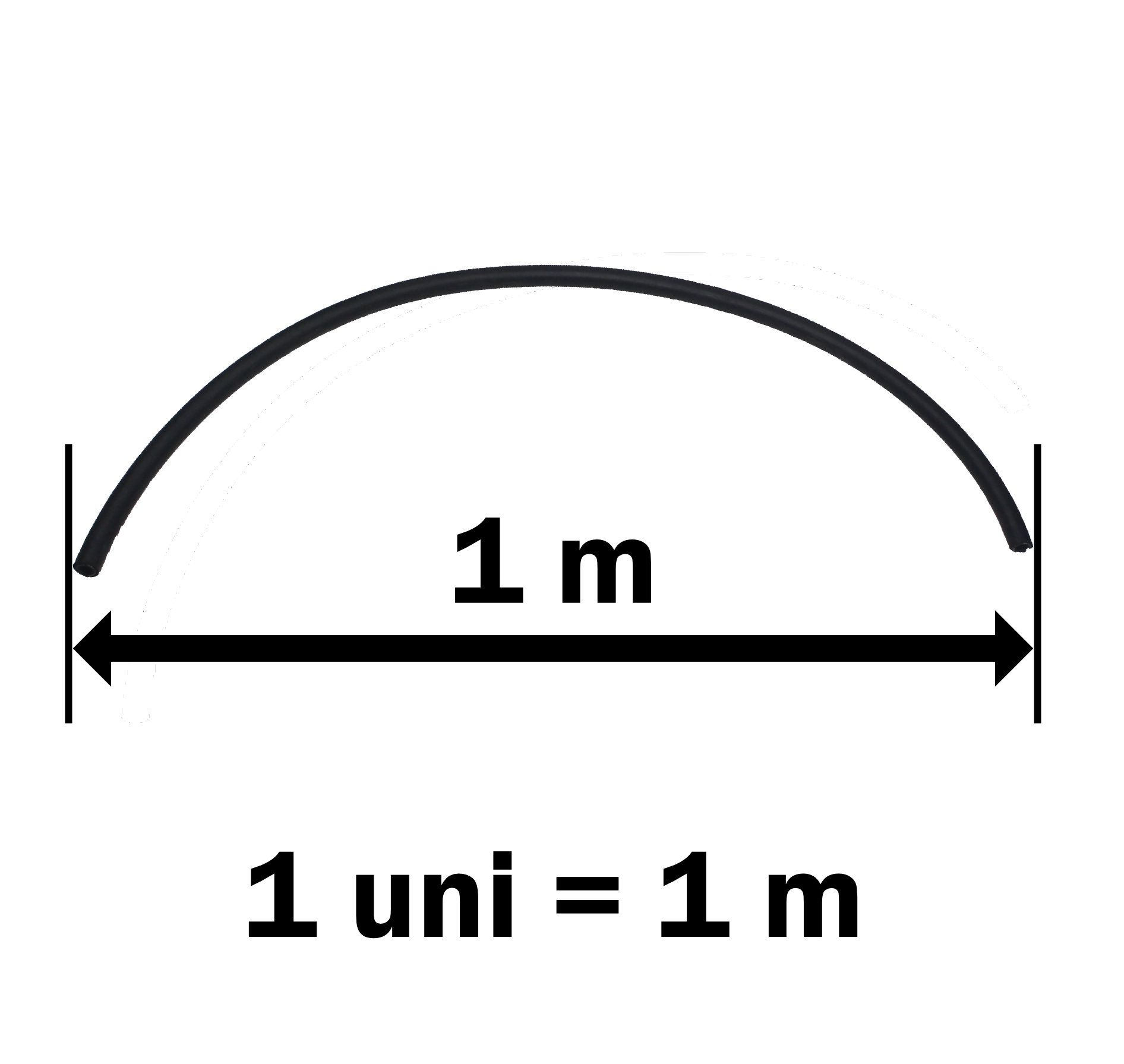 Mangueira Ar Condicionado Universal 6mm - POR METRO