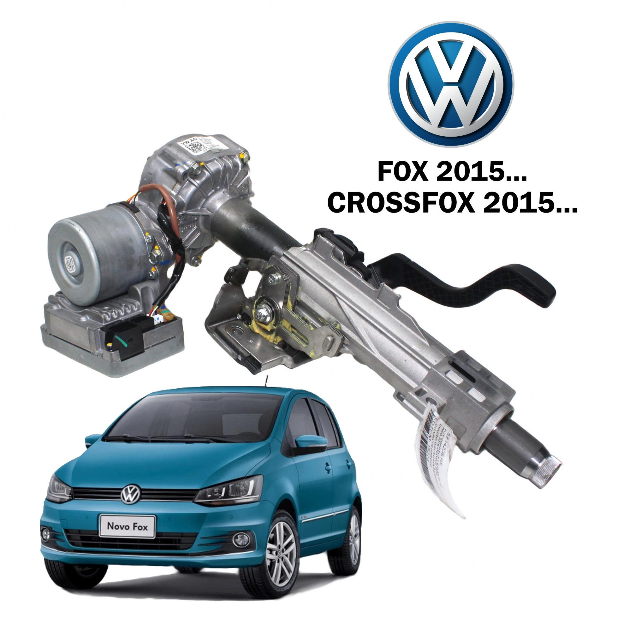 Motor Coluna Direção Elétrica Fox 2015... 5Z1423510L