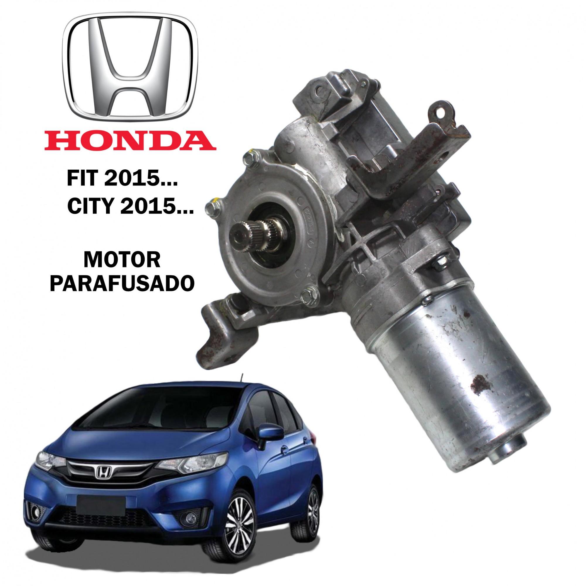 Motor Coluna Direção Elétrica Honda Fit 2015..., City 2015... - Motor Parafusado na Coluna