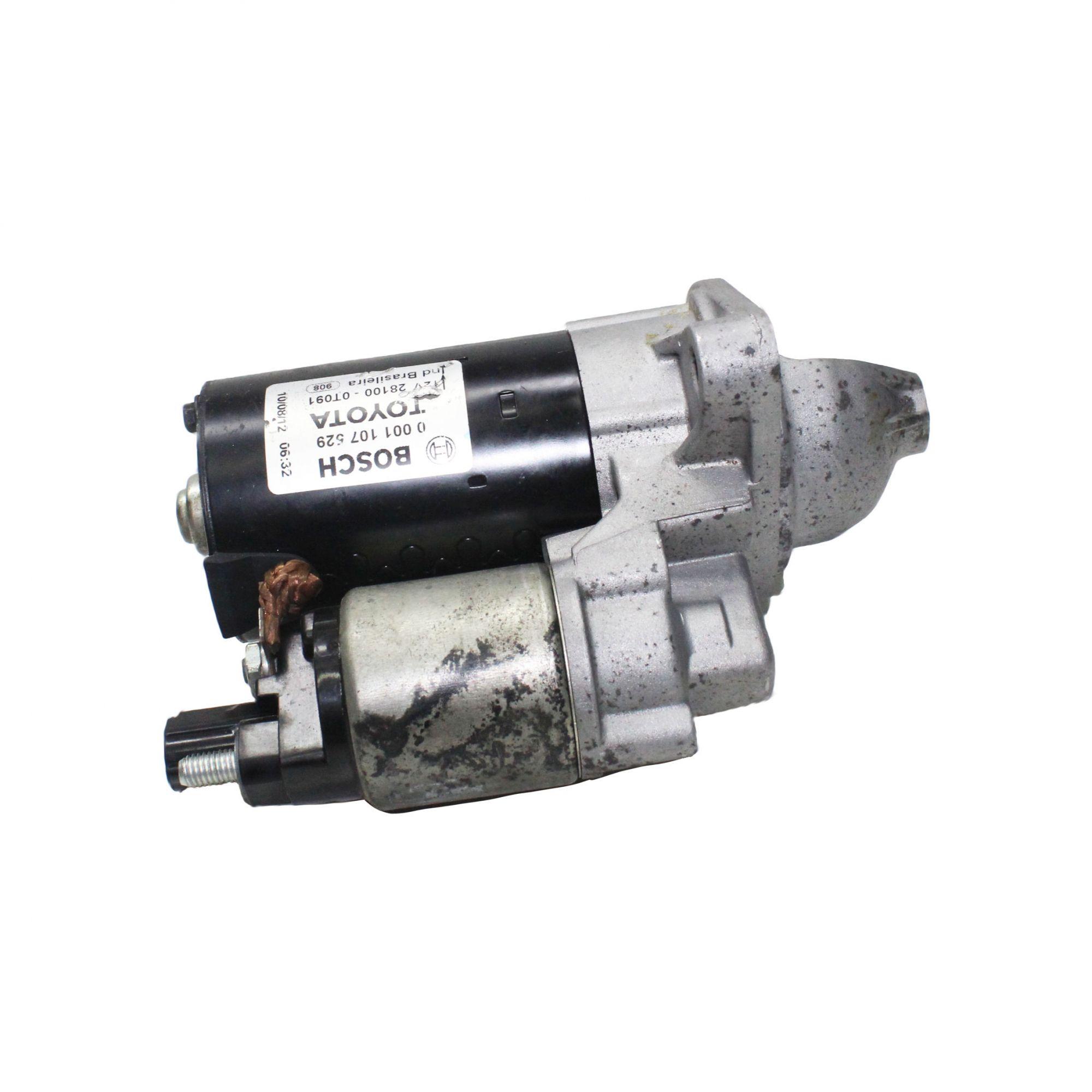 Motor de Arranque Partida Bosch Corolla 2009...2014 0001107529 Recon