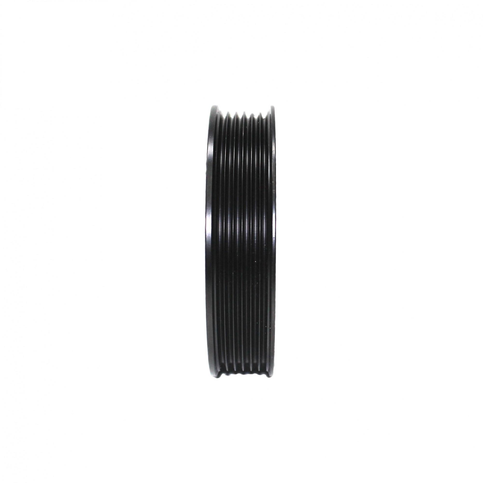 Polia Compressor Ar Condicionado Denso 6PK Gol, Saveiro, Parati 1.0 c/ Rolamento