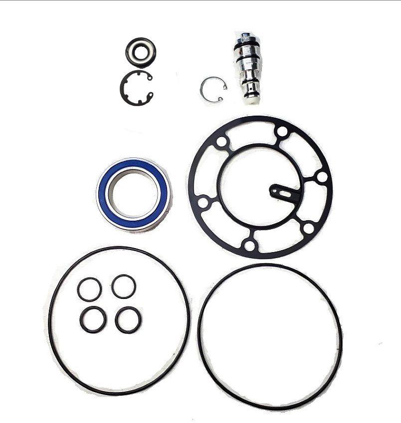 Kit Reparo Vedação Compressor Harrison V5 Scenic, Golf Vectra, Omega, Tipo,  (Borracha)