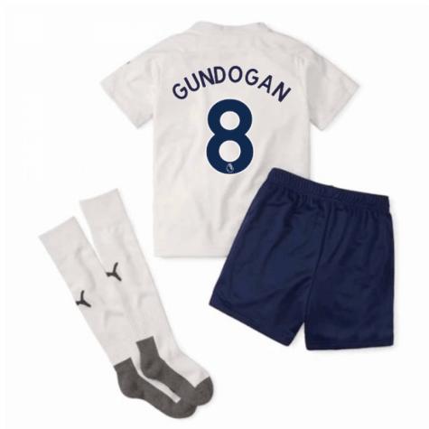 Kit Infantil Manchester City 2021 Uniforme 3