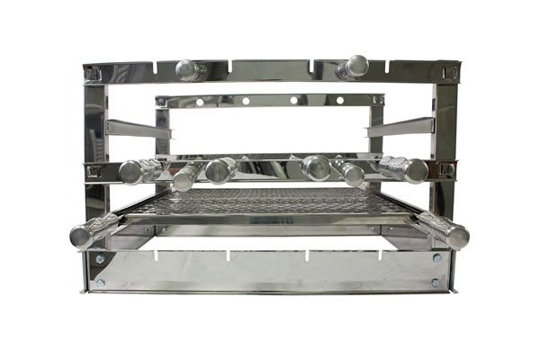 Grill Manual Inox 4 Espetos - 59 x 45