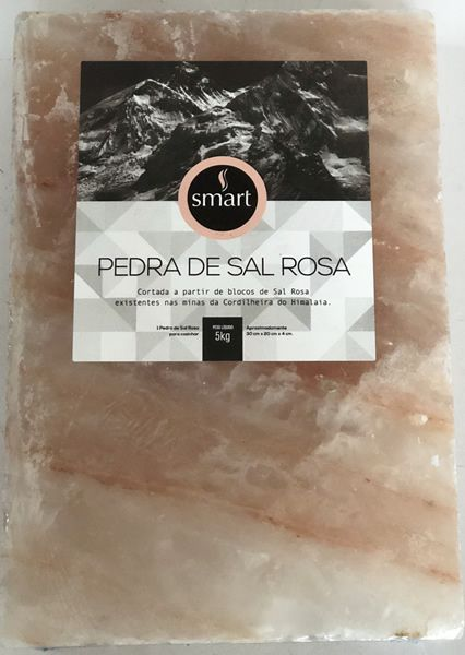 Pedra de Sal Rosa do Himalaia 30 x 20