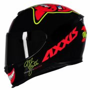 AXXIS EAGLE MG16 CELEBRITY EDITION BY MARIANNY GLOSS BLACK/RED