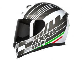 CAPACETE AXXIS EAGLE ITALY GLOSS WHITE
