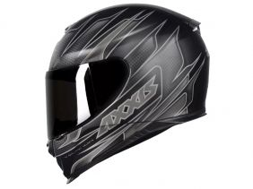 CAPACETE AXXIS EAGLE SPEED MATT BLACK/GREY