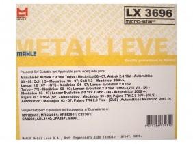 FILTRO AR LX3696 - METAL LEVE