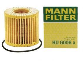 FILTRO ÓLEO LUBRIFICANTE - HU6006X MANN